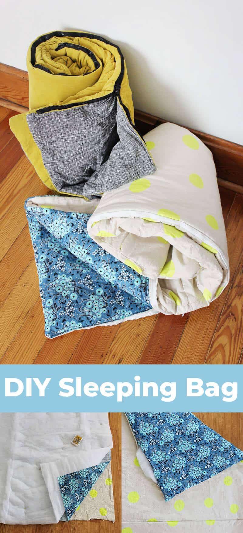 So nähen Sie Ihren eigenen Schlafsack