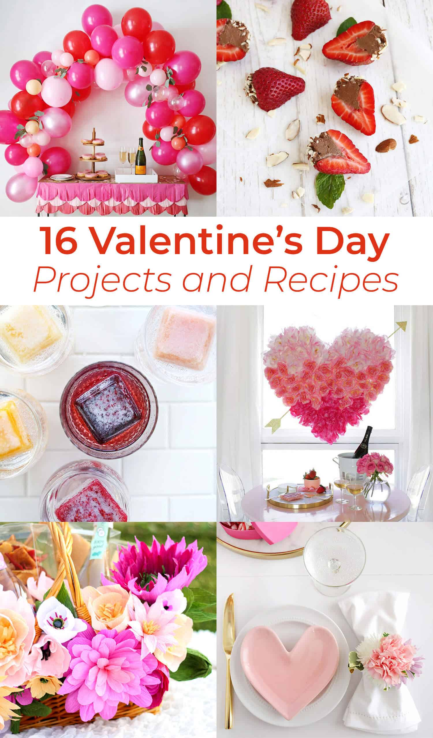16 Valentine S Day Projects And Recipes A Beautiful Mess