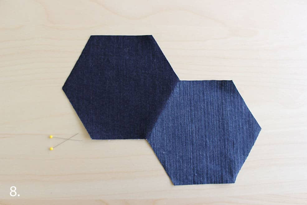 Wie man einen Denim-Teppich näht