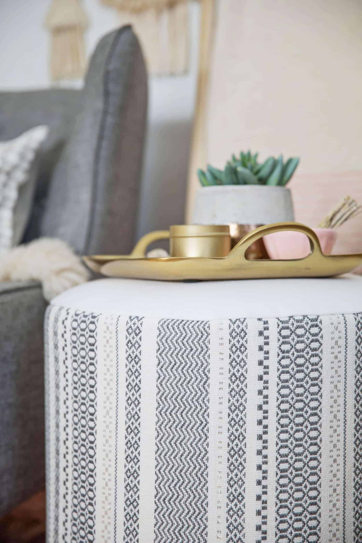 Build Your Own Upholstered Side Table