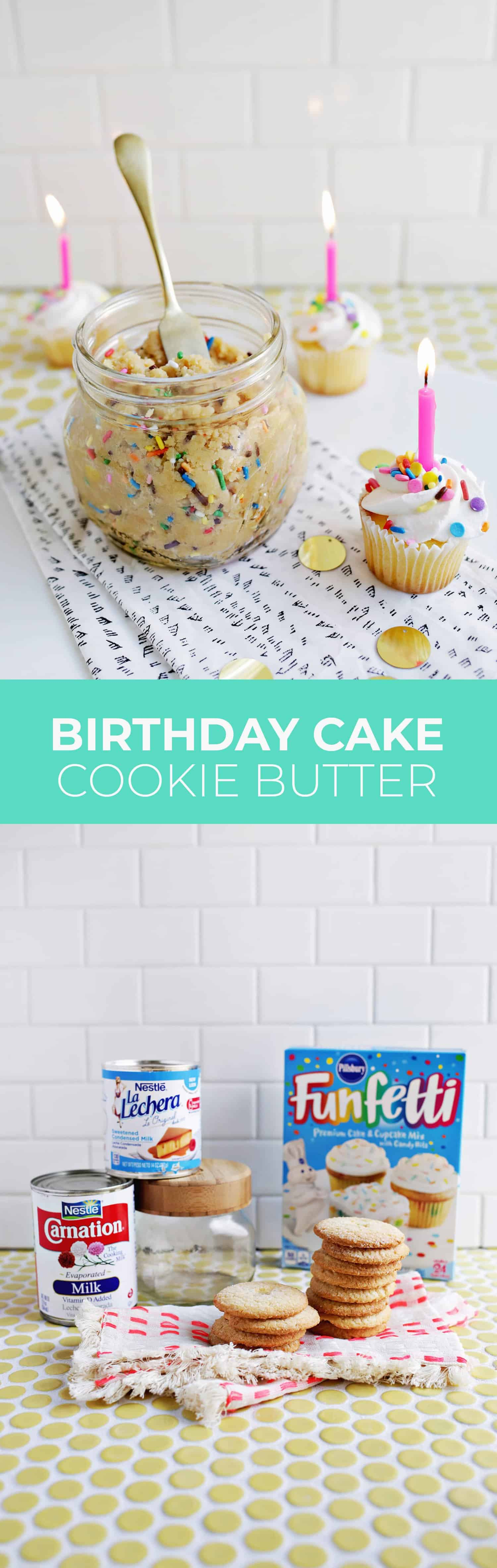 Birthday Cake Cookie Butter | A Beautiful Mess | Bloglovin\'