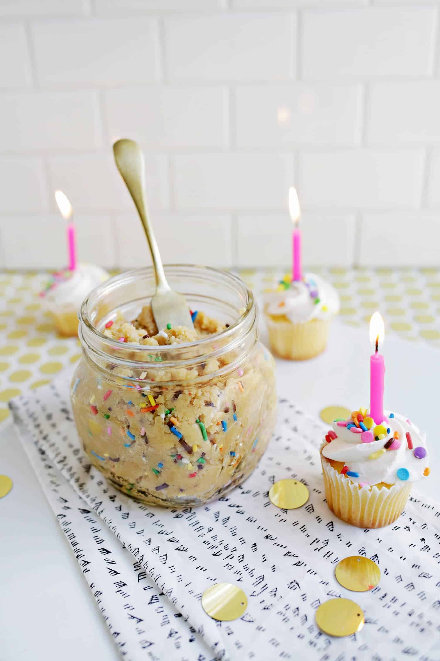 Surprising Birthday Cake Cookie Butter A Beautiful Mess Funny Birthday Cards Online Inifodamsfinfo