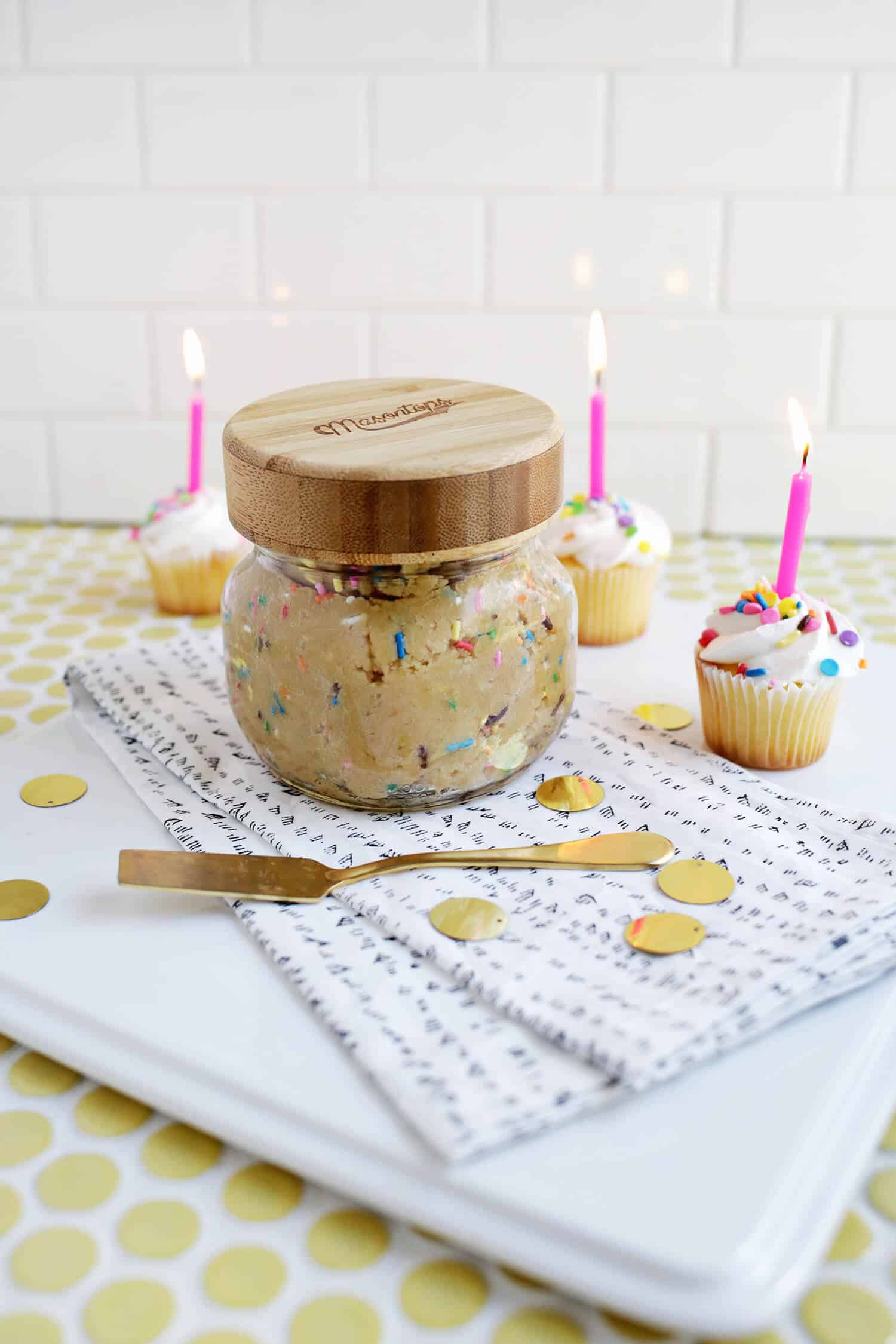 Birthday Cake Cookie Butter A Beautiful Mess