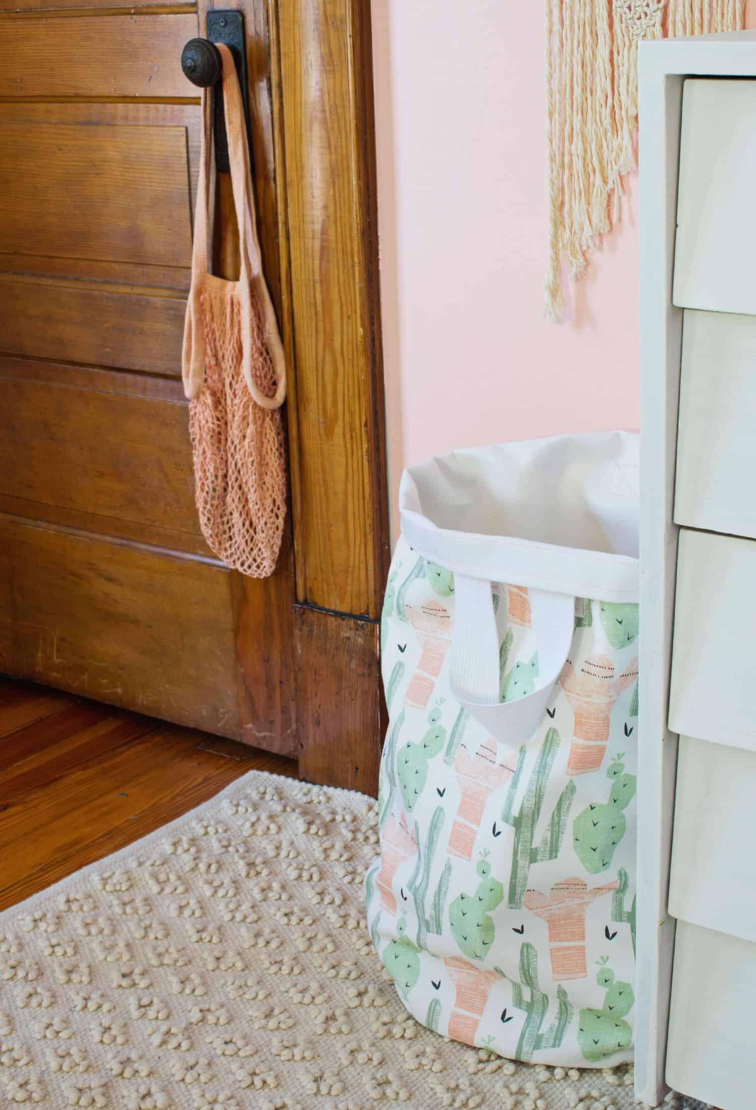 Nähen Sie Ihren eigenen Wäschekorb
