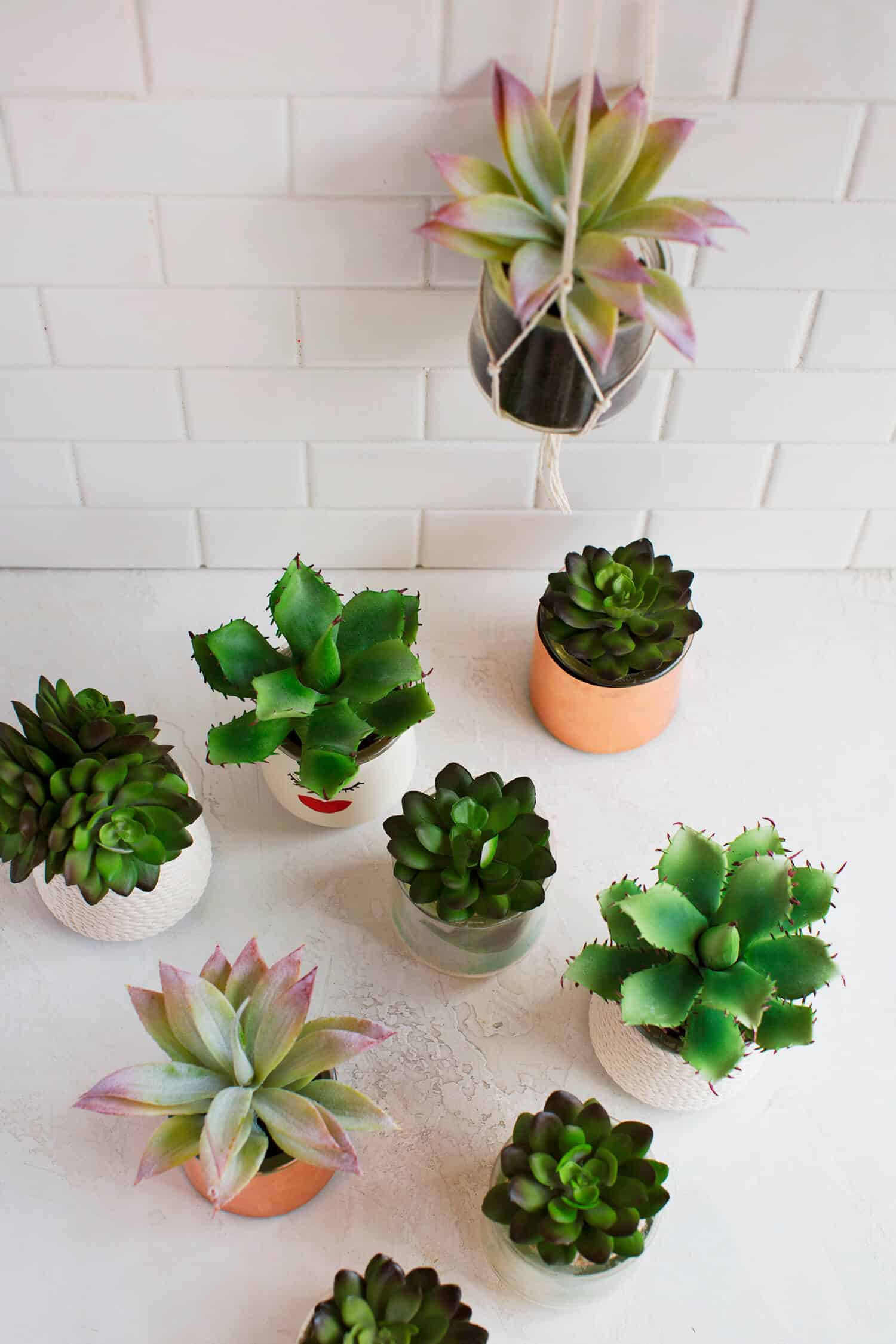 5 Easy Diy Glass Planters A Beautiful Mess