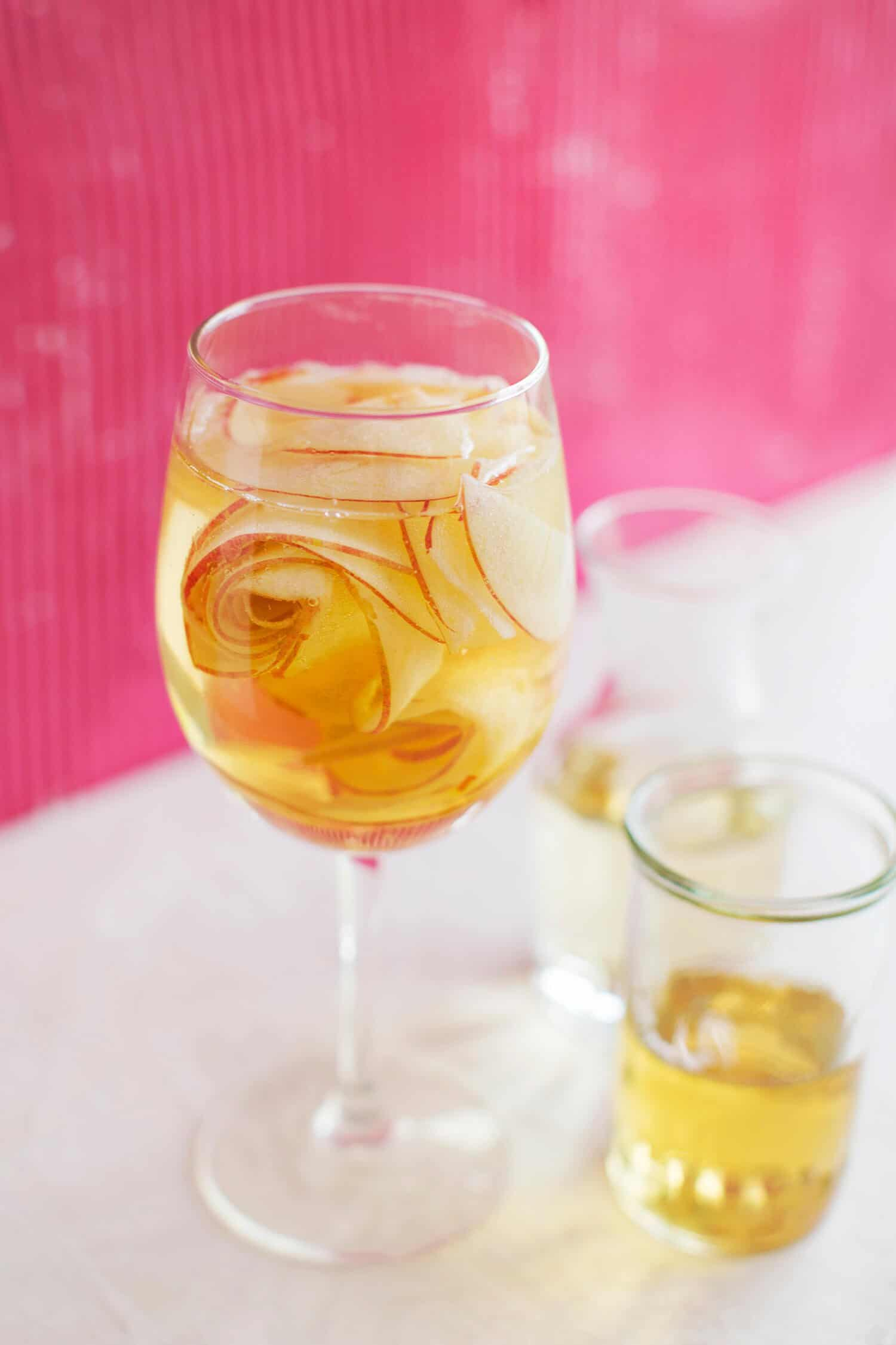 White Wine Apple Spritzer A Beautiful Mess Splash Bottle Acs Series And