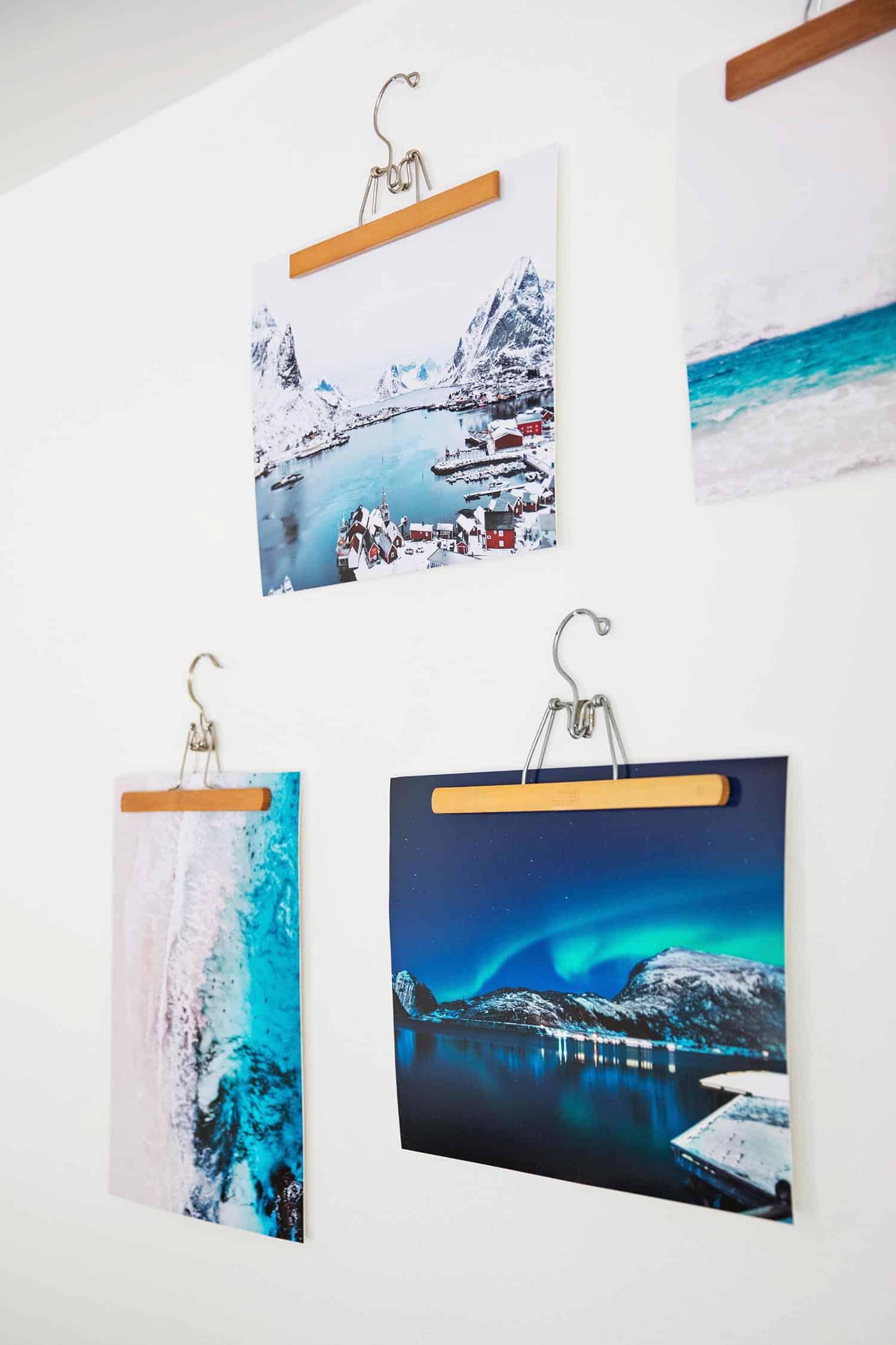 Quick + Easy Wooden Hanger Frames - A Beautiful Mess