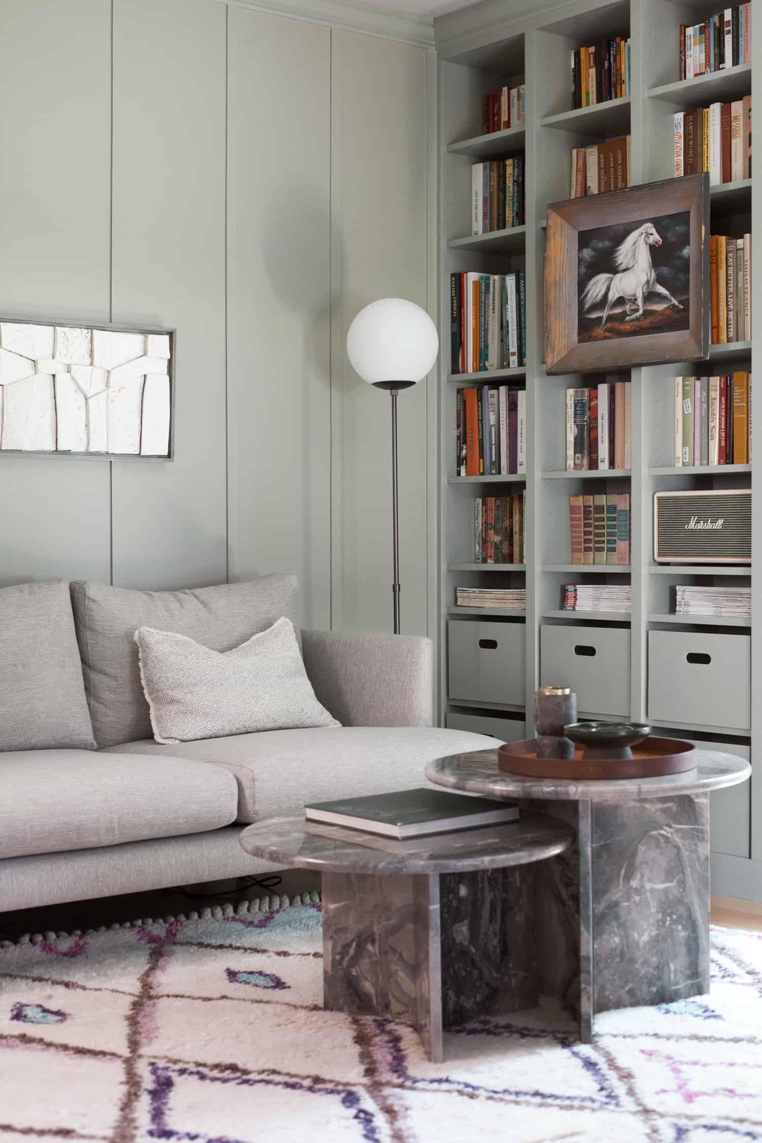Home Library Makeover —DIY Bookshelves