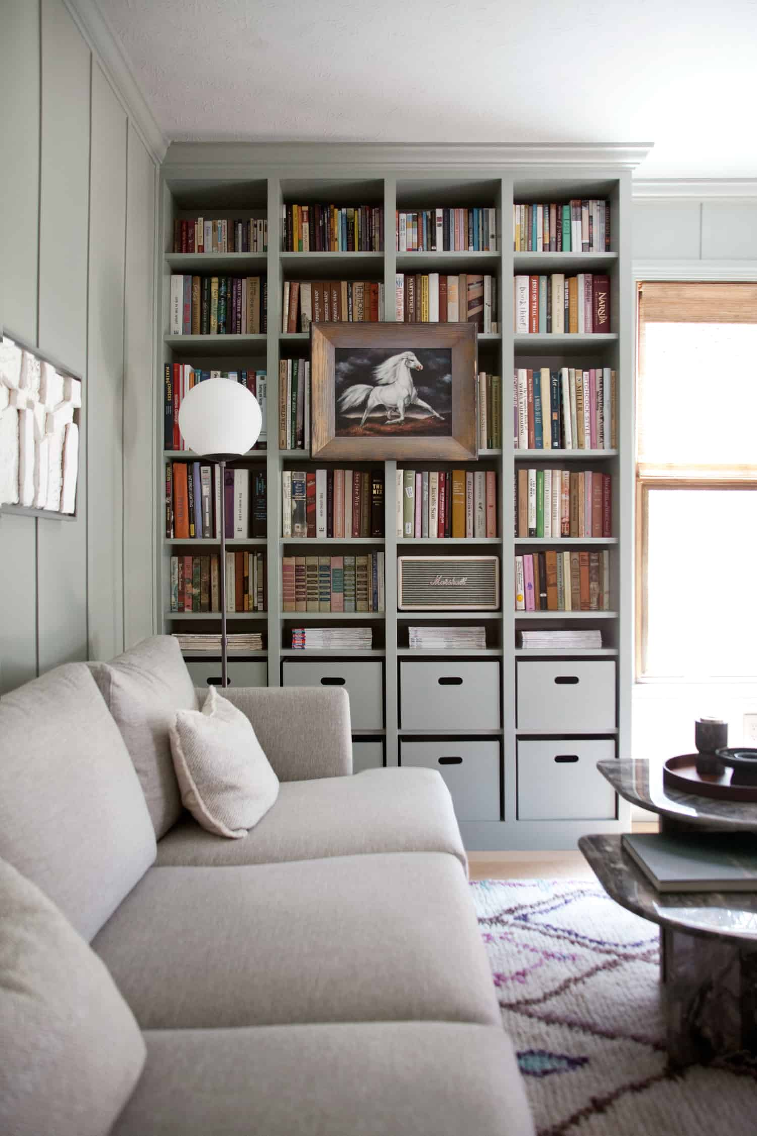 Diy Built In Bookshelves Ikea Billy Bookcase Hack