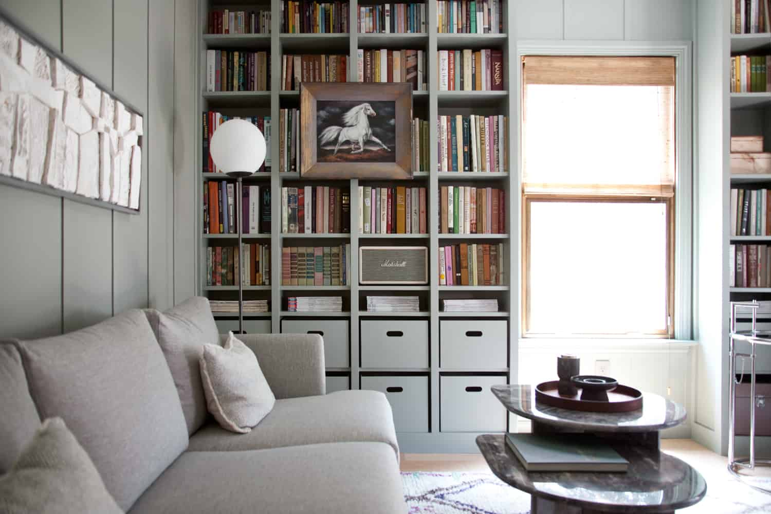 Home Library Makeover — DIY Bookshelves