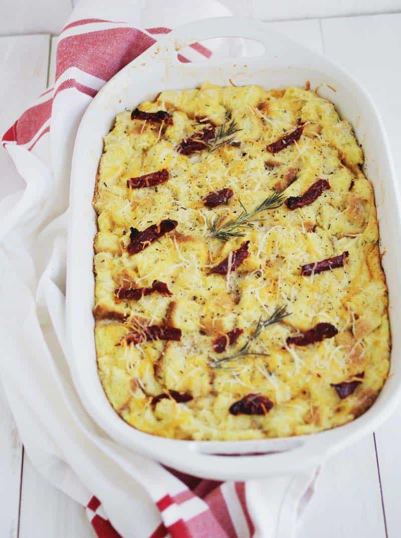Savory french toast casserole 1