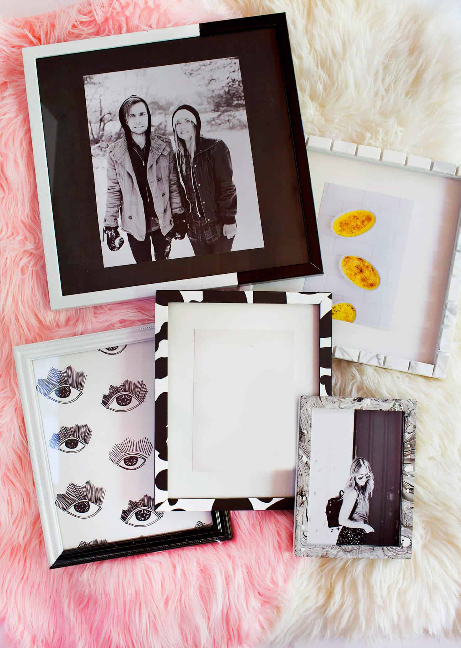 Ways to Update a Thrifted Photo Frame 1