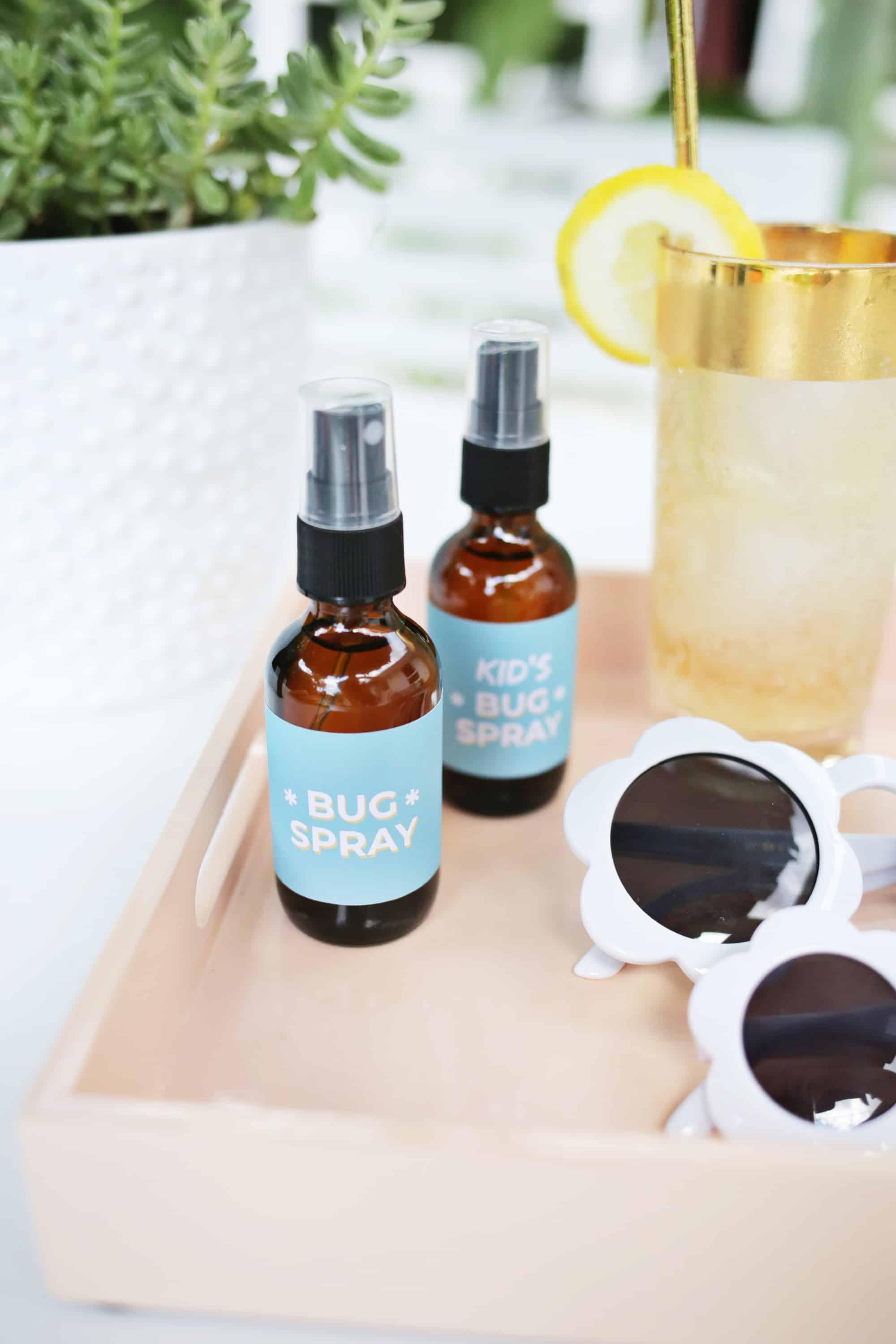 Natural Bug Repellent DIY!