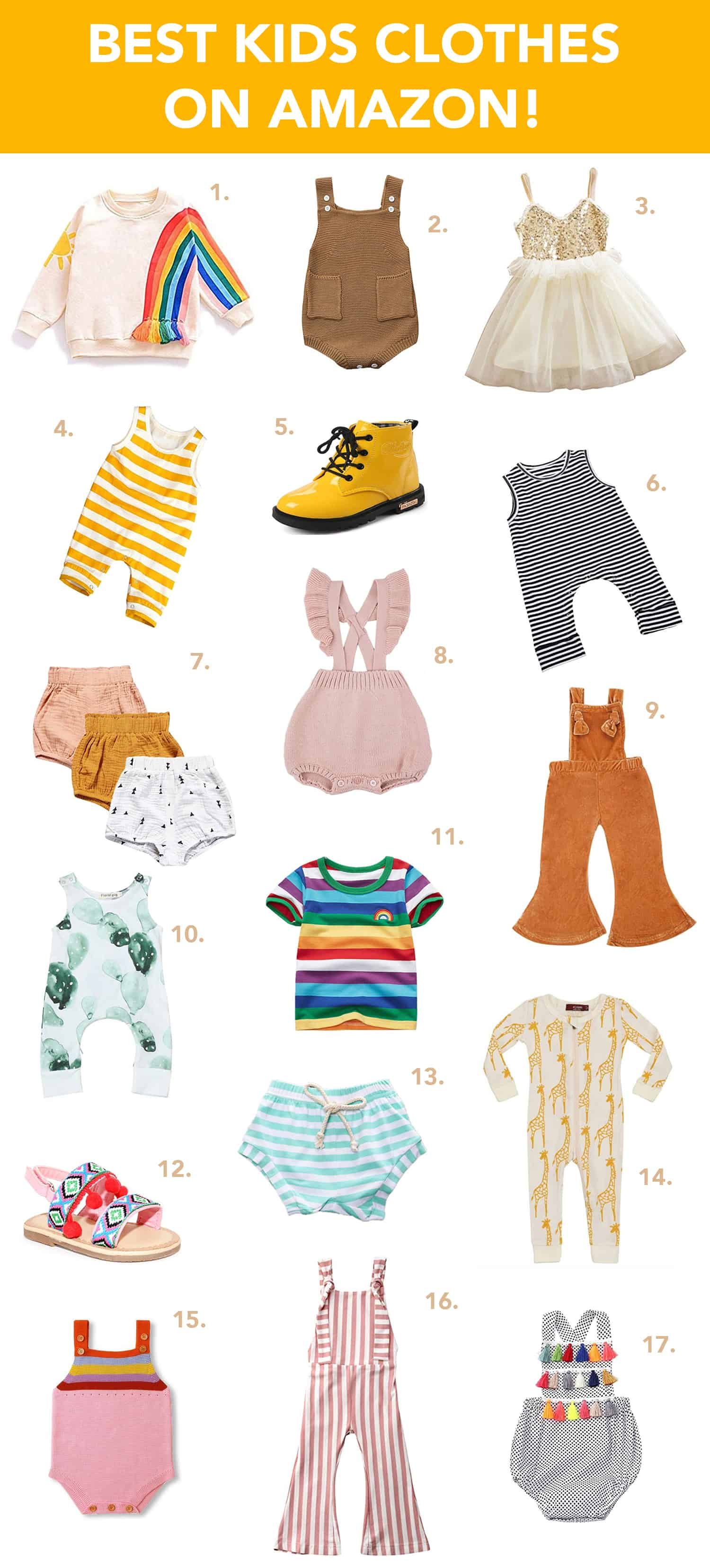 d75106421cb90 Our Favorite Kids Clothes On Amazon! | A Beautiful Mess | Bloglovin'
