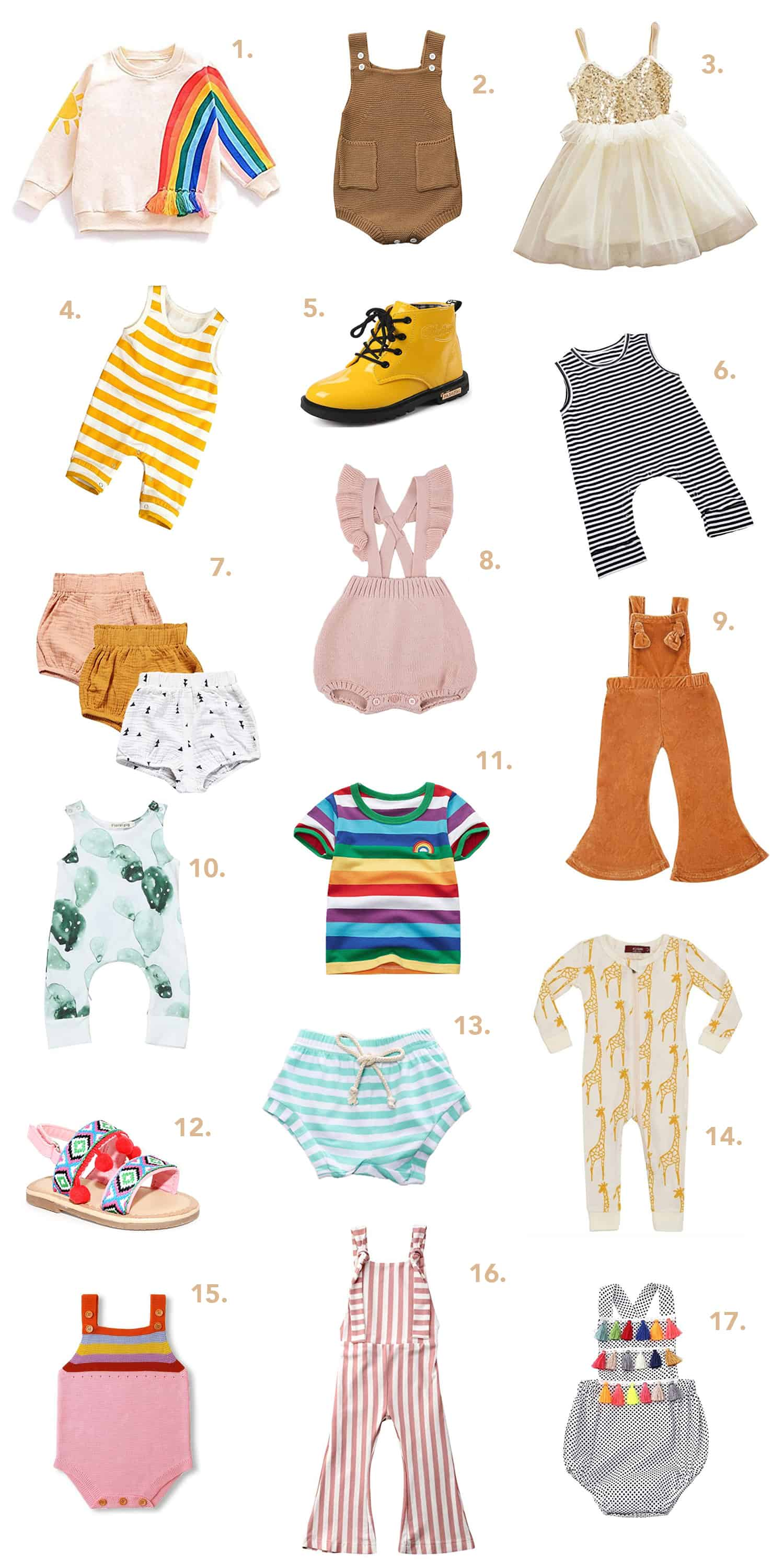 Our Favorite Kids Clothes On Amazon!