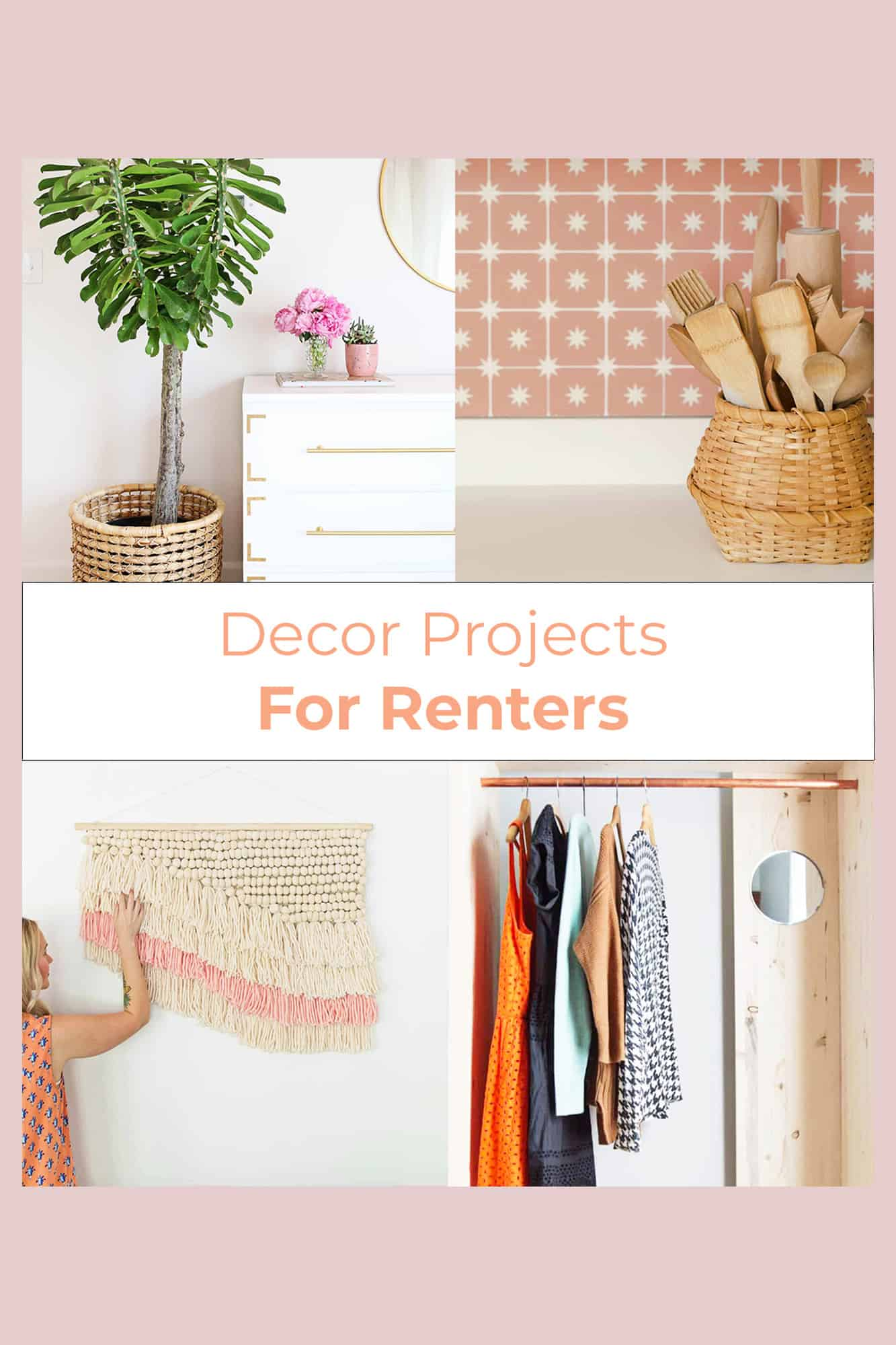 Decor projects for renters