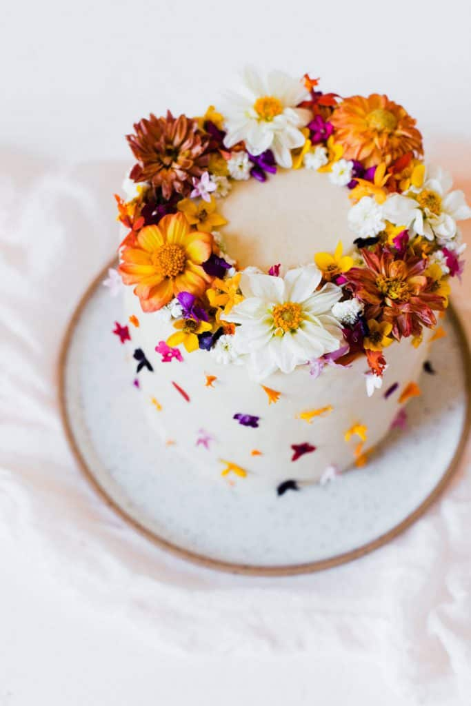 Tips For Using Edible Flowers Cake Beautiful Mess