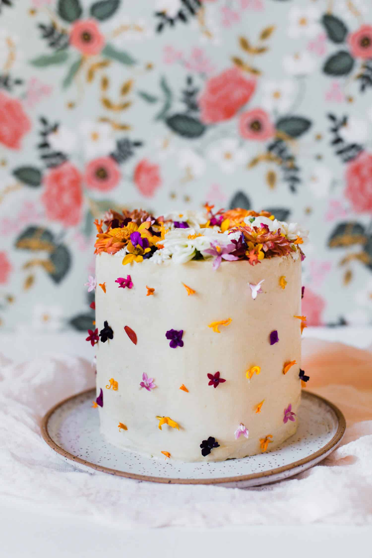 Tips for Using Edible Flowers on Cake - A Beautiful Mess