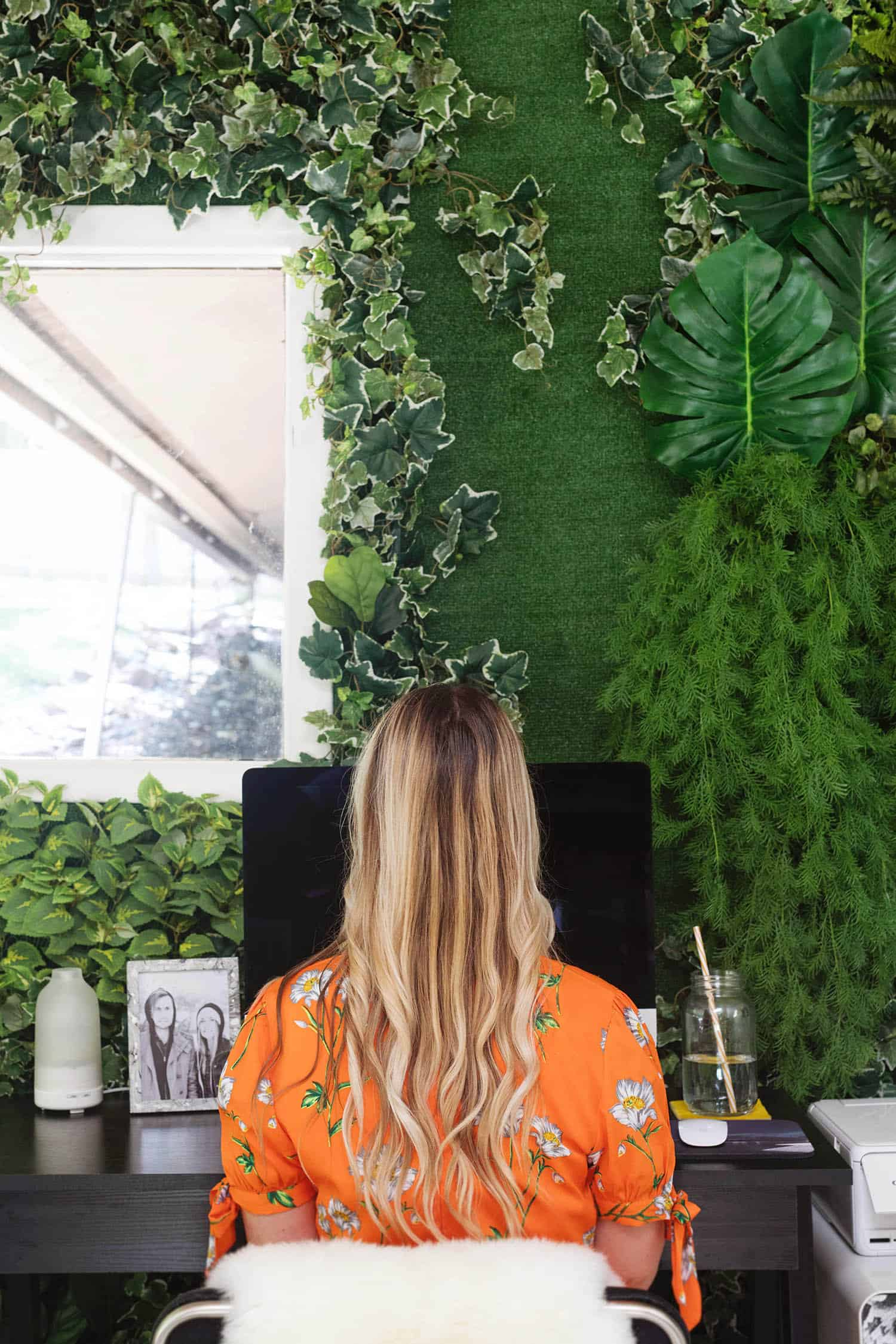 Living Wall Home Office-Tour