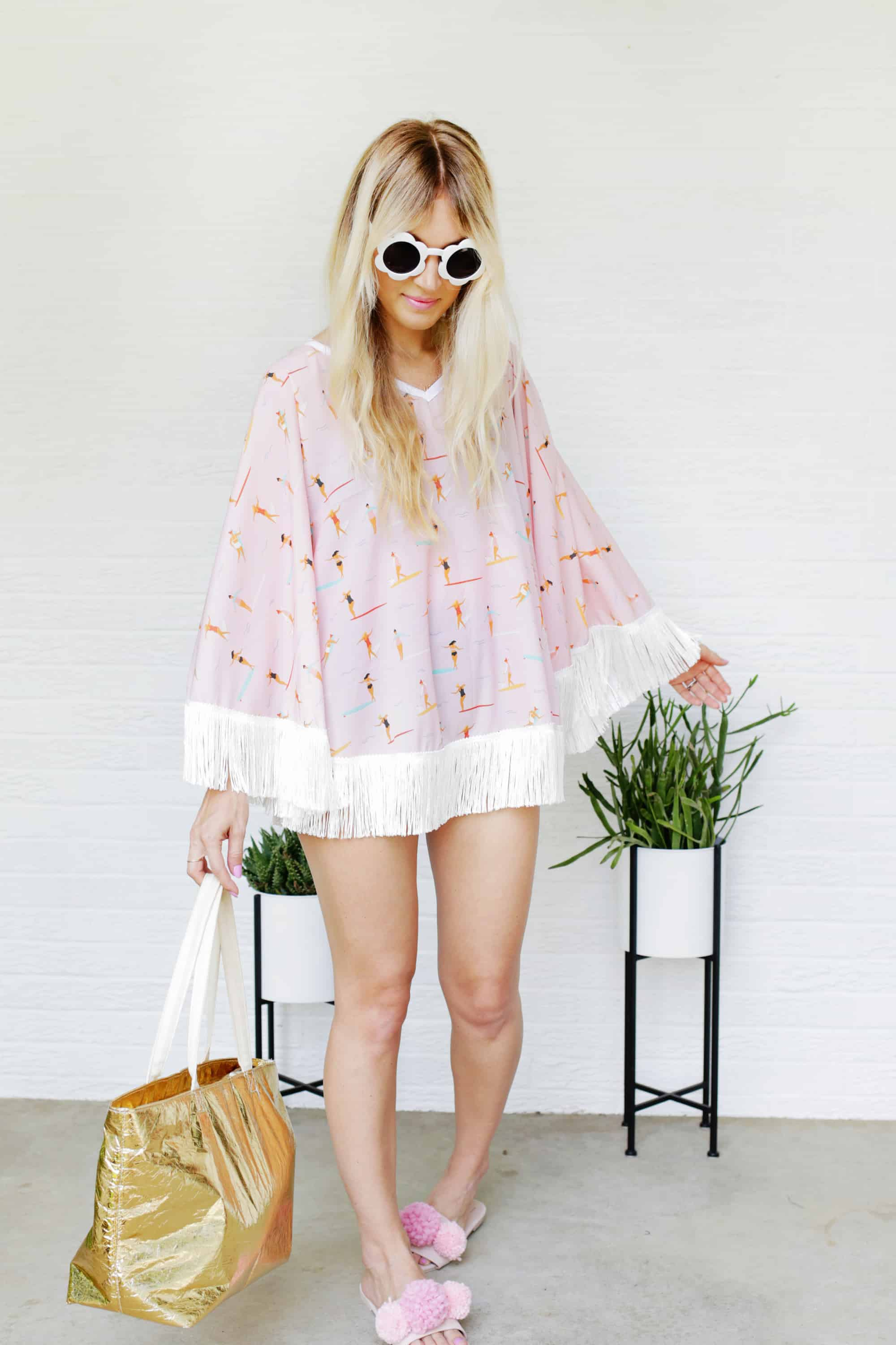 Circle Swimsuit Cover-Up DIY!
