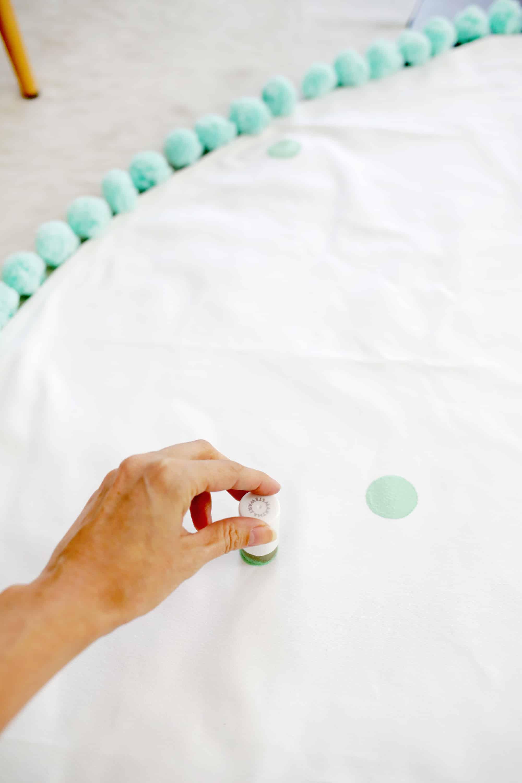 Waschbarer Teppich DIY!