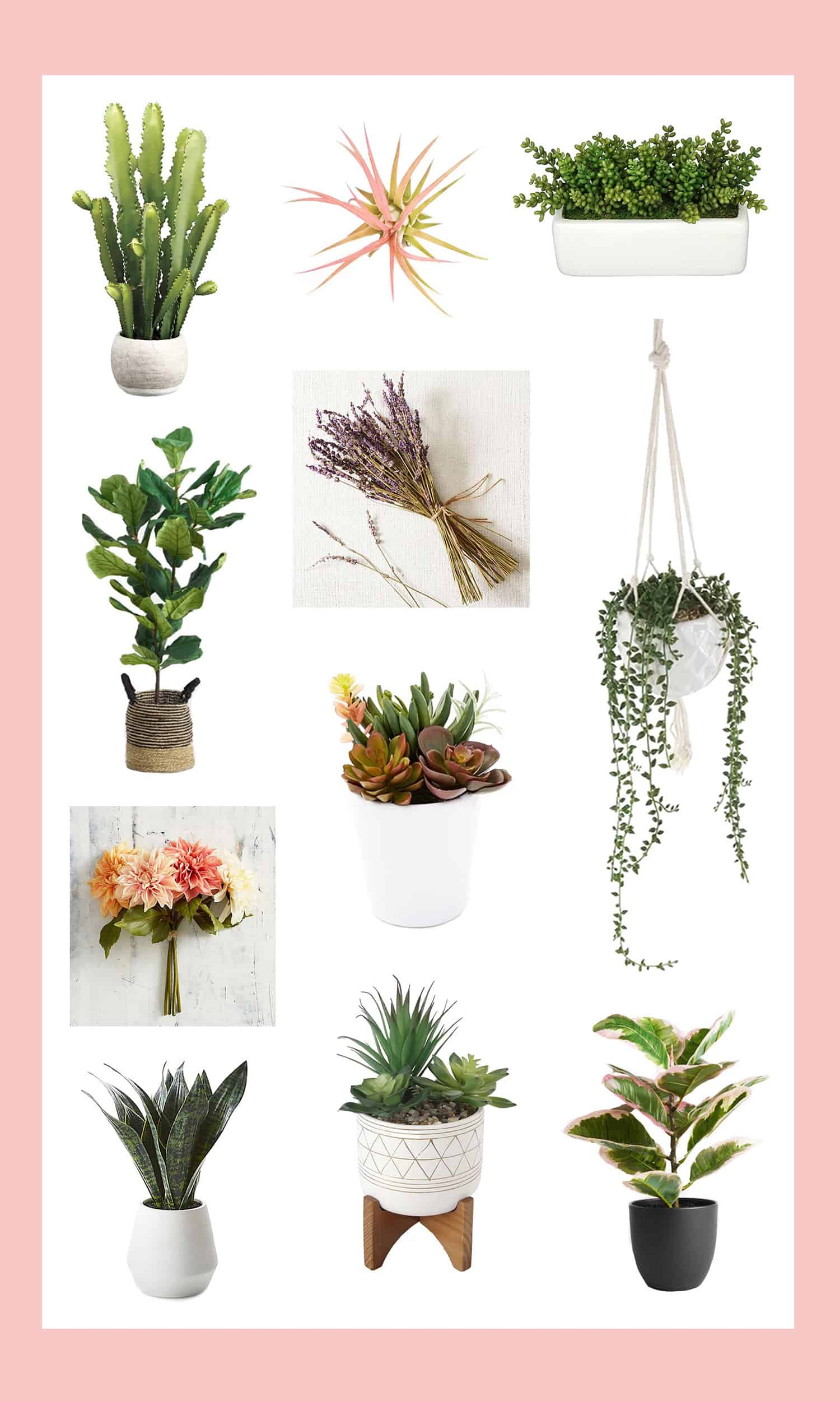 The Best Faux Plants and Flowers