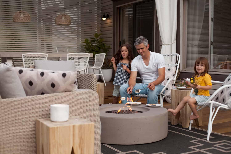 Tipps zum Dekorieren eines Wohnraums im Freien