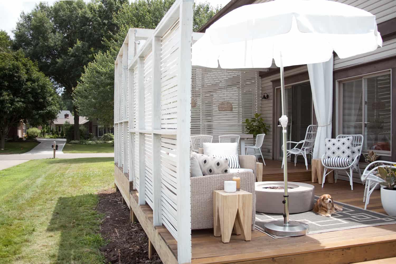 So bauen Sie einen preiswerten Zaun aus Lamellenholz