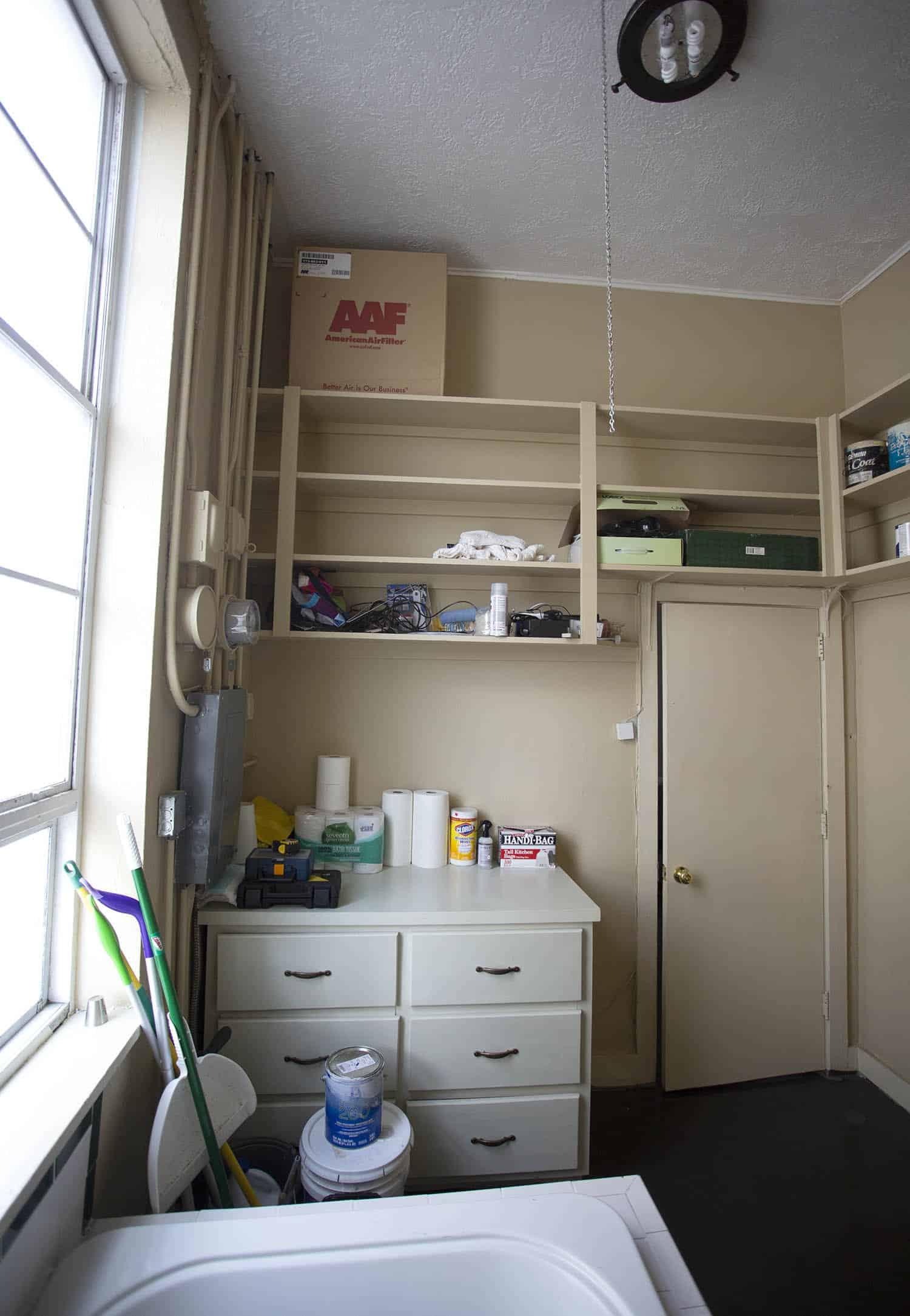 Unser Loft Office Badezimmer Makeover