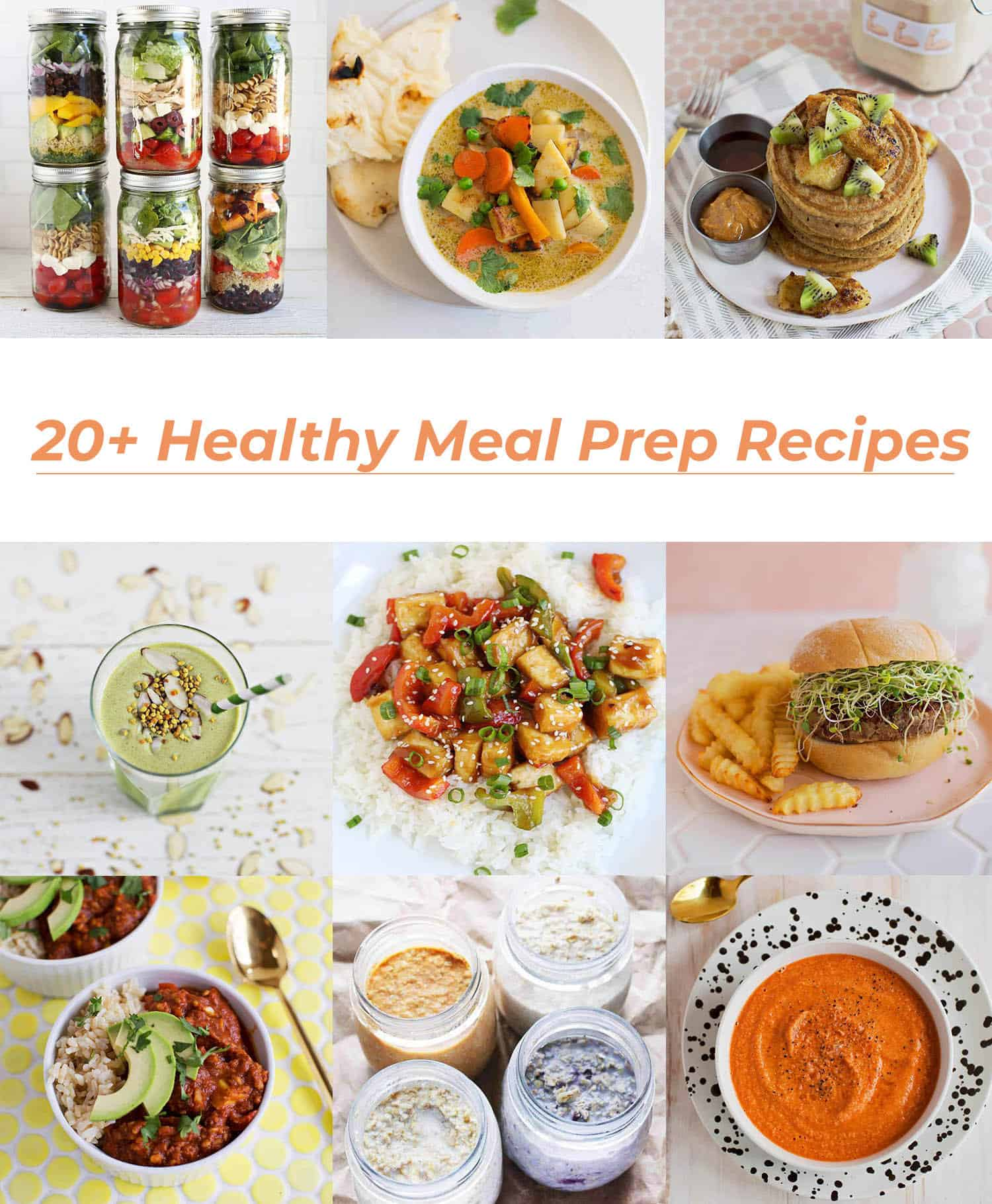 20+ Healthy Meal Prep Recipes