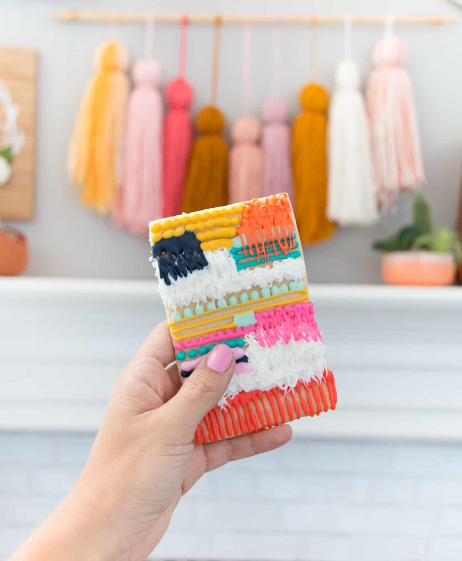 Make Wall Weaving Sugar Cookies
