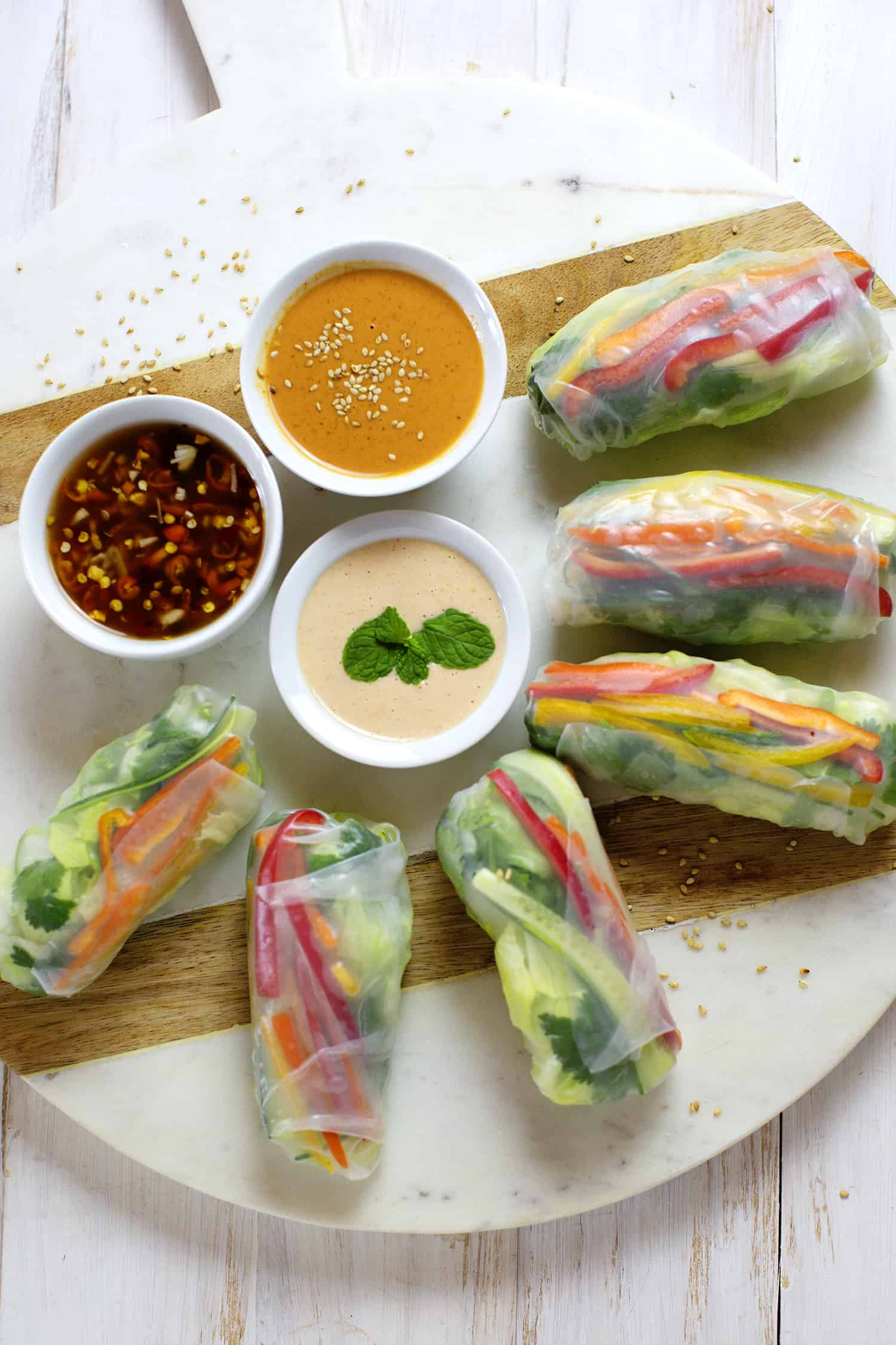 3 Easy Spring Roll Sauces