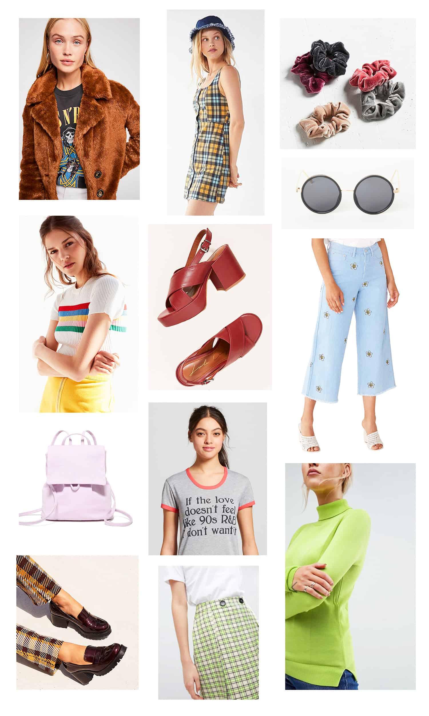'90s Fall Fashion Wishlist