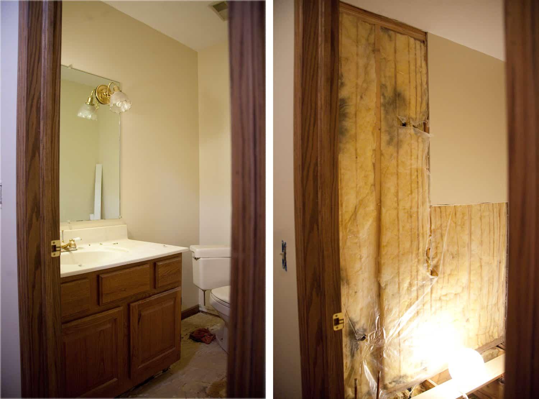 powder room before