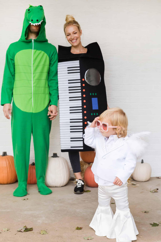 """Crocodile Rock"" Family Halloween Costume"