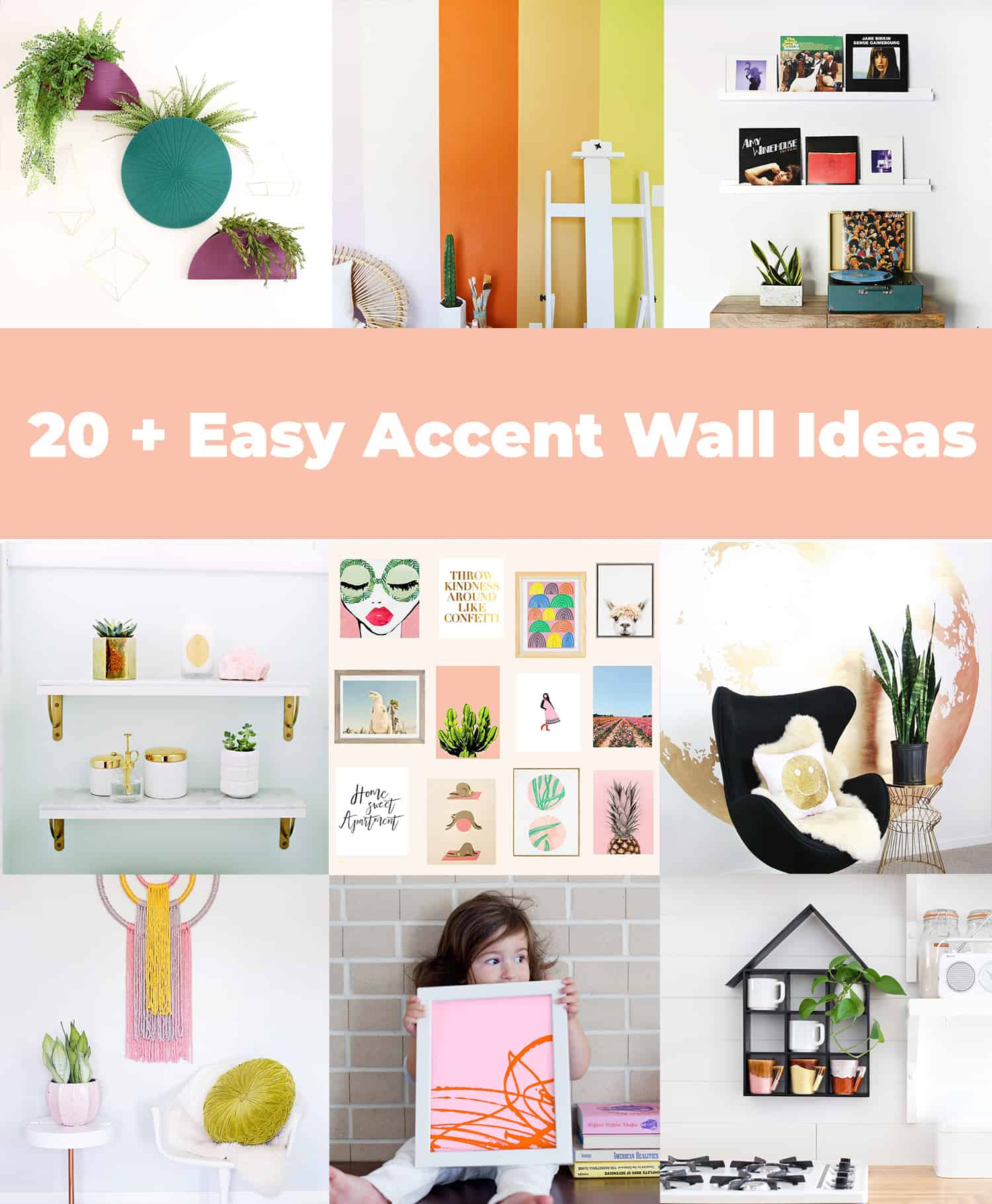 20+ Easy Accent Wall Ideas