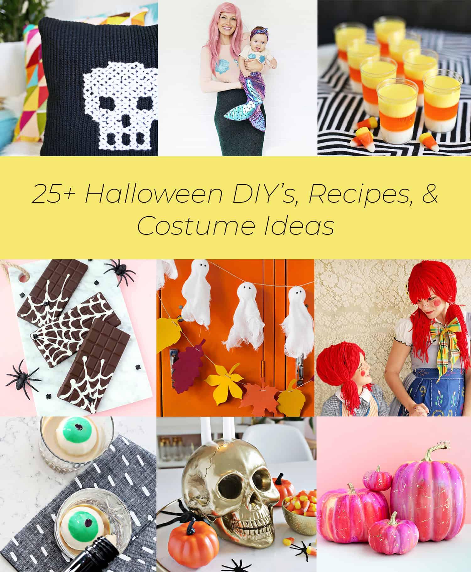 25+ halloween diy's, recipes, & costume ideas - a beautiful mess