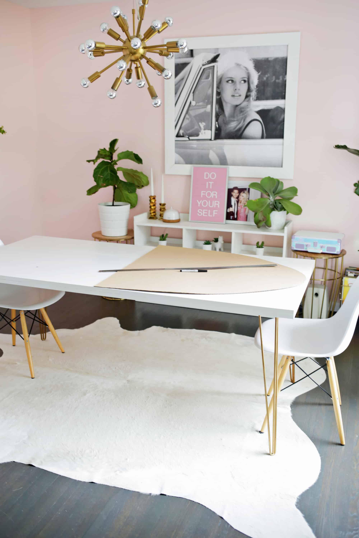 Ikea DOCKSTA Table Hack! - A Beautiful Mess