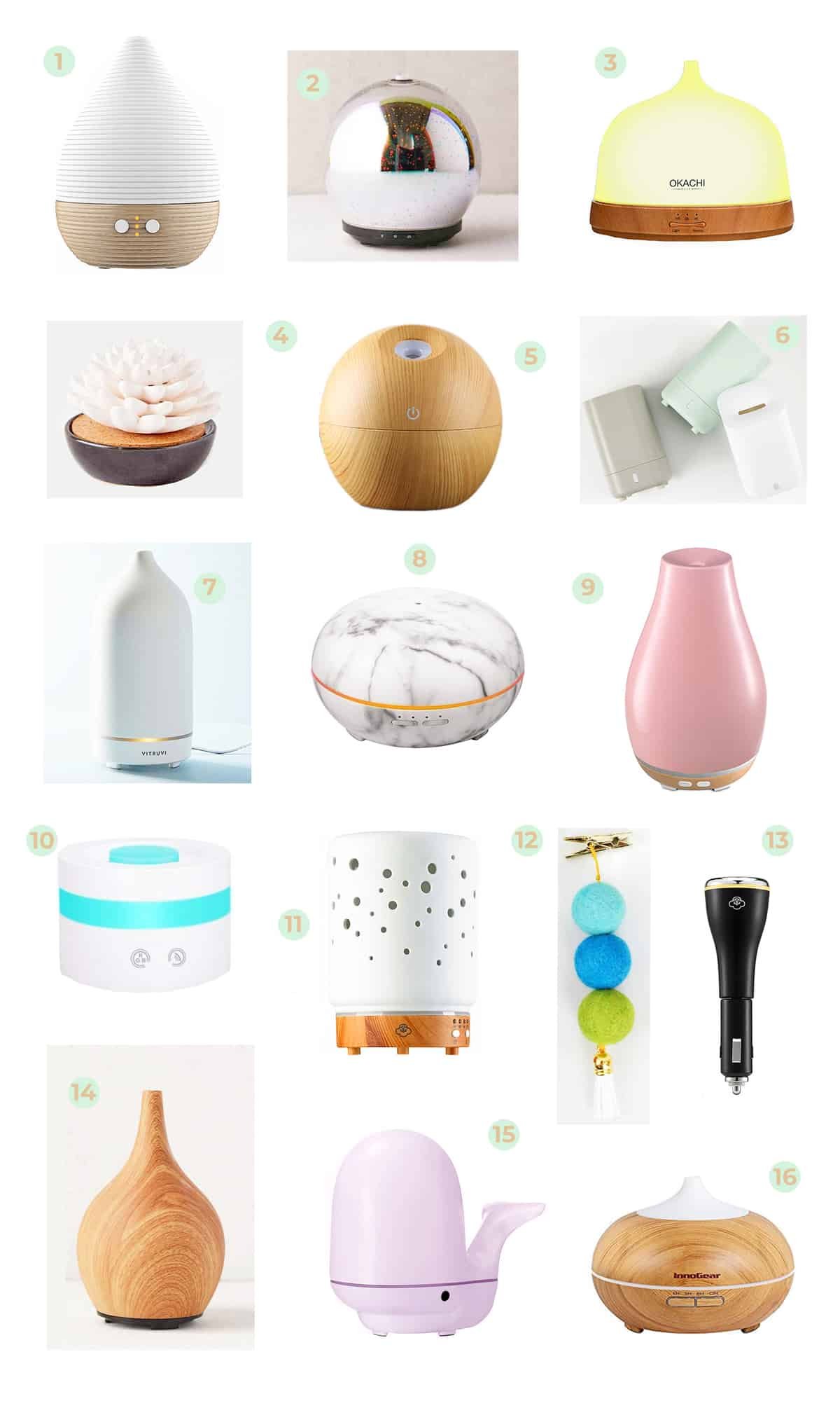 Elsie's Favorite Essential Oil Diffusers