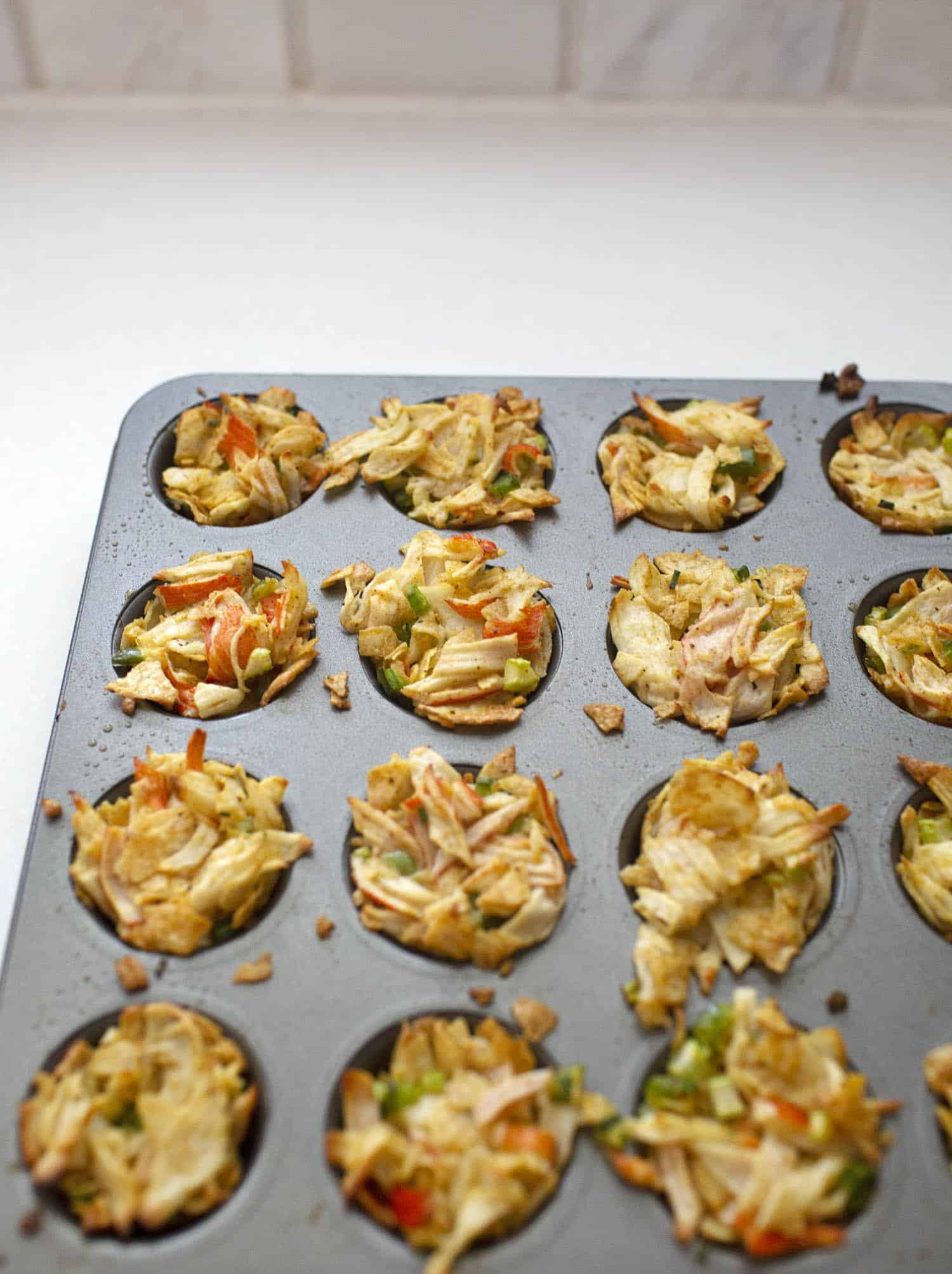 Baked Potato Chip Crab Cakes A Beautiful Mess