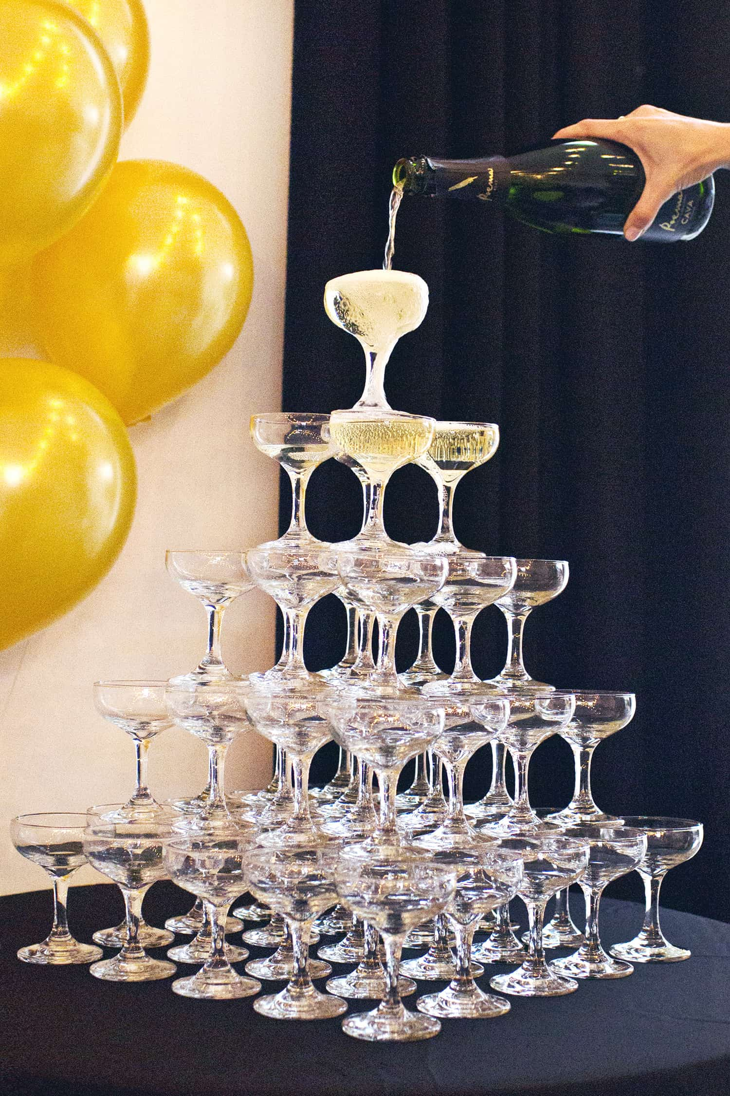 How To Build A Champagne Tower A Beautiful Mess