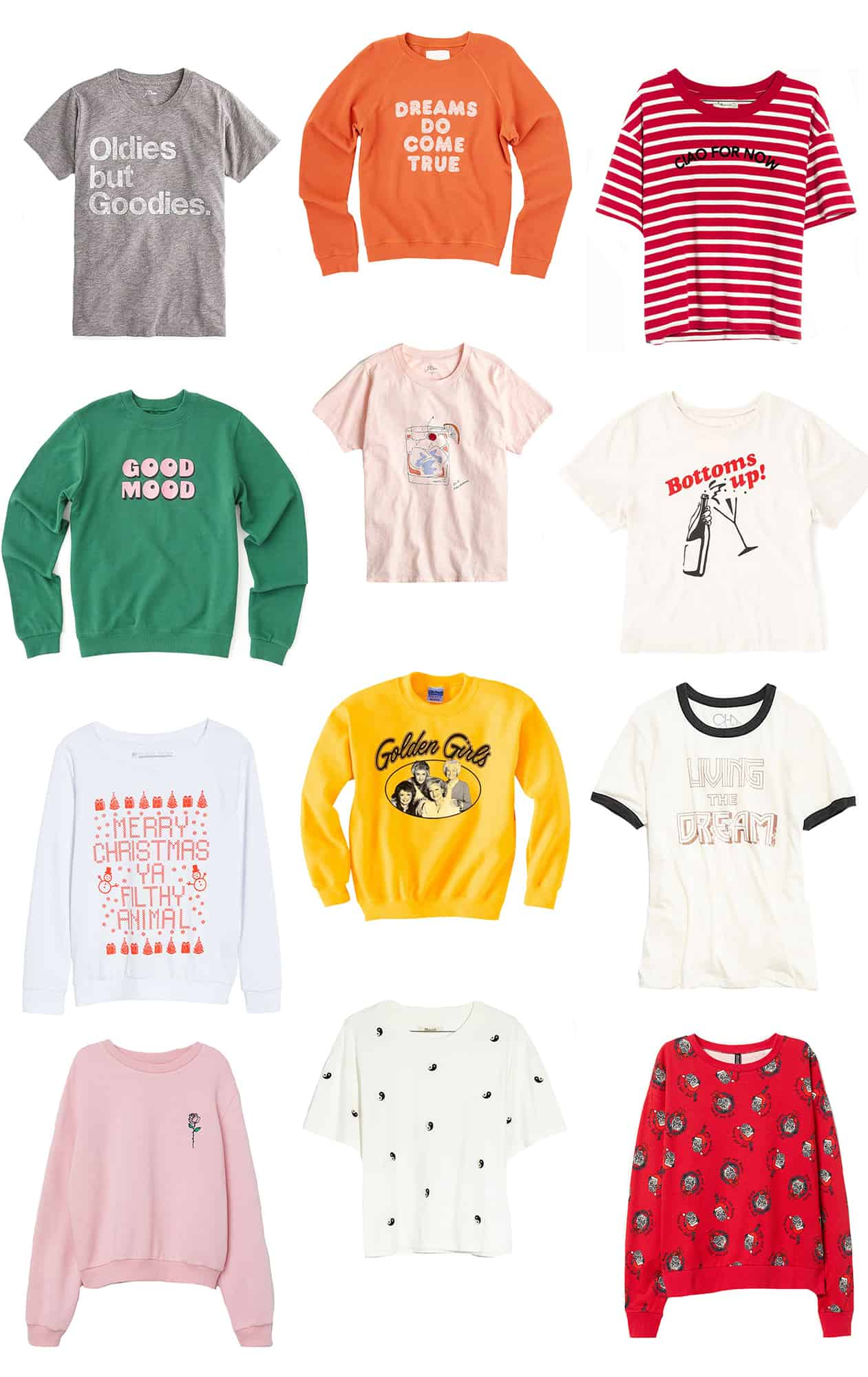 Our Favorite Graphic Tees & Sweatshirts
