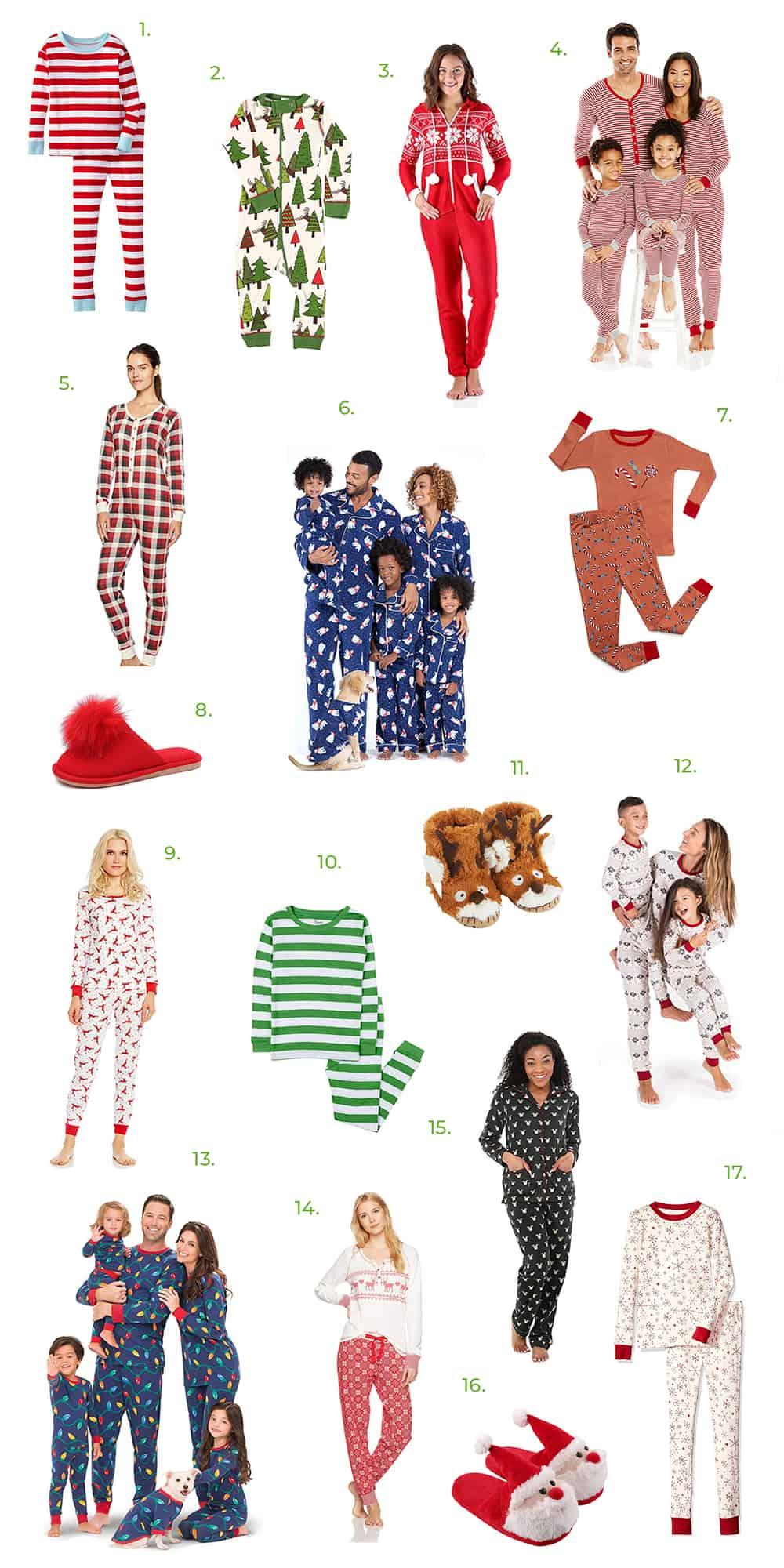 the best holiday pajamas on amazon a beautiful mess