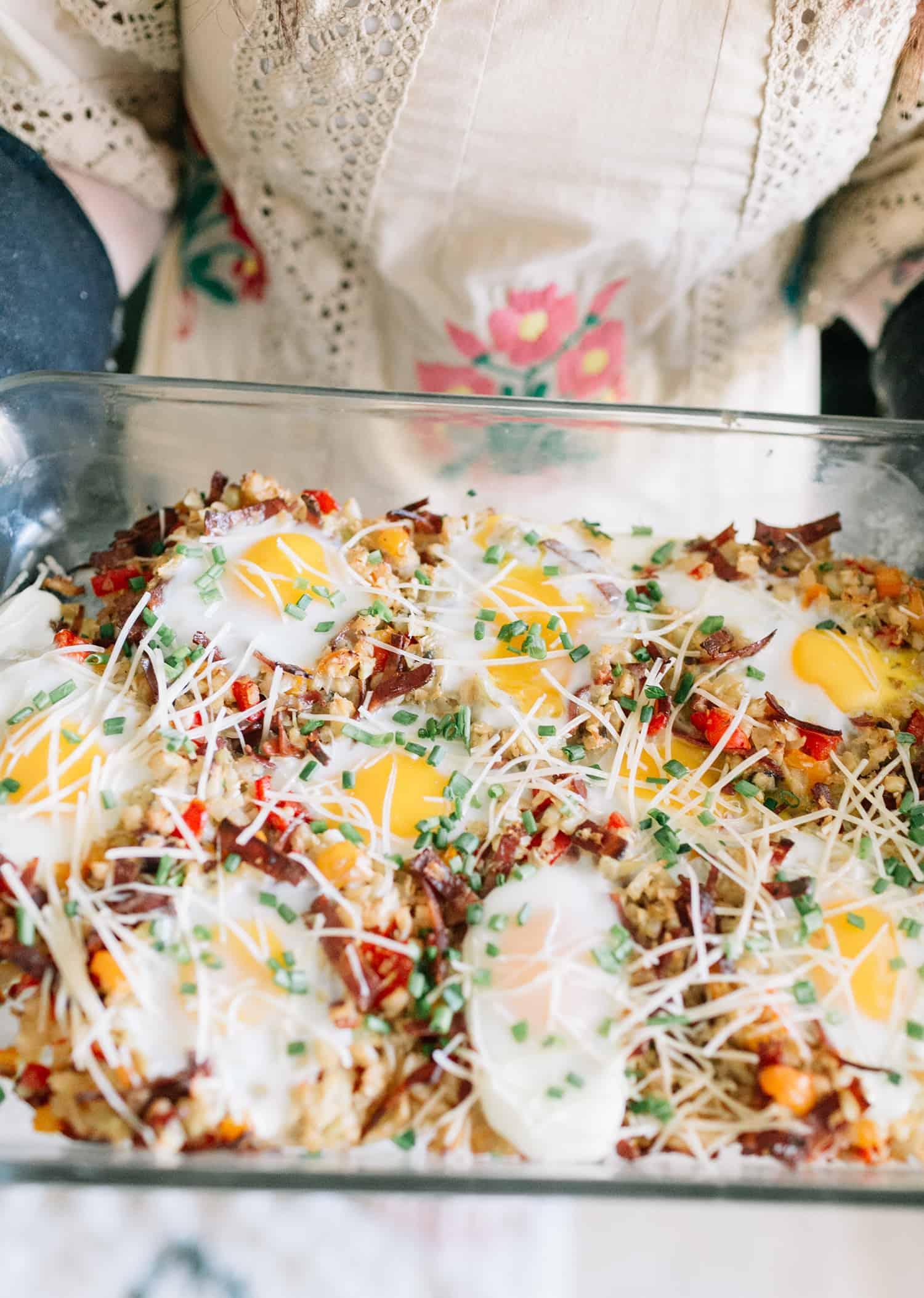 Cauliflower Breakfast Hash