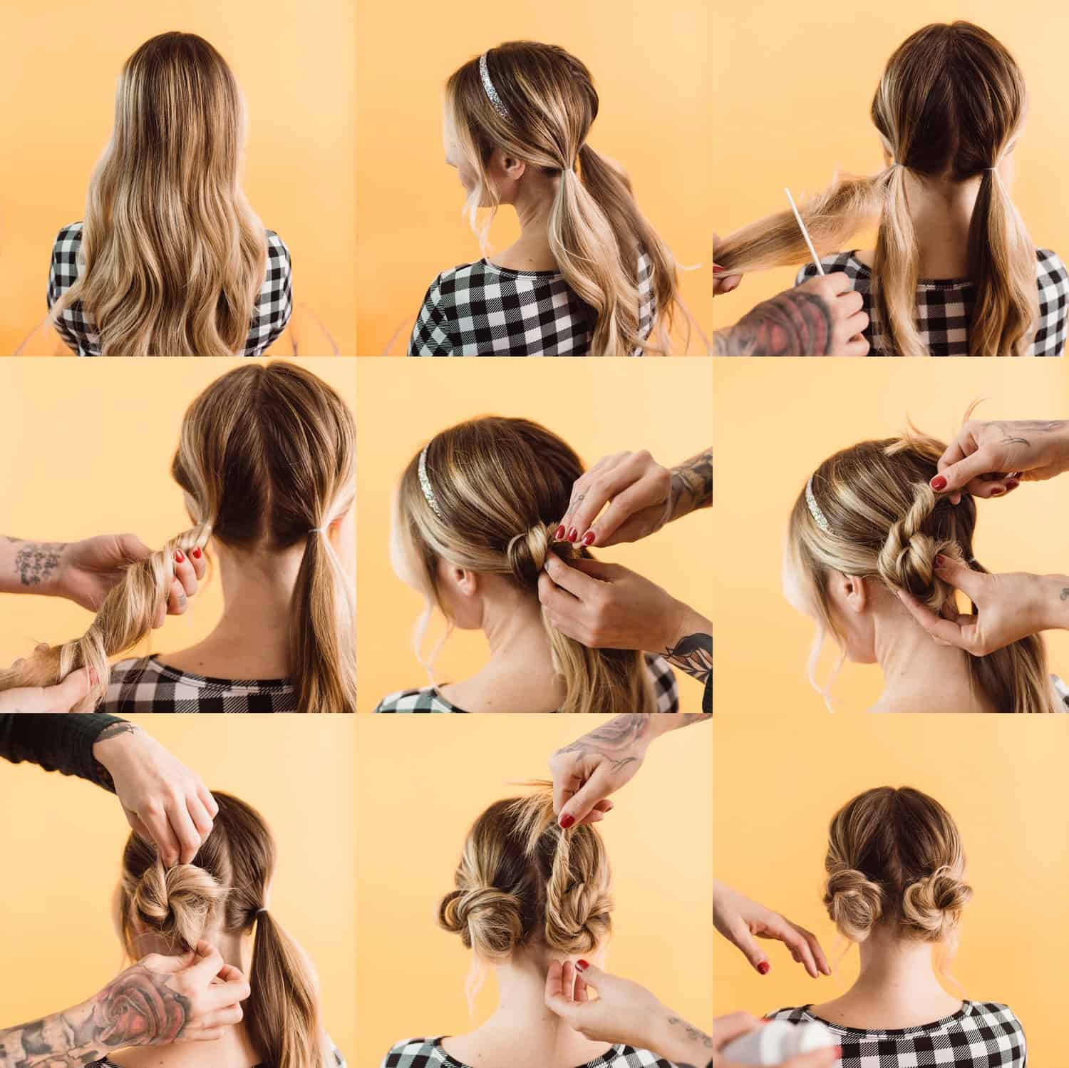 Easy Updo Styles For Medium Or Long Hair A Beautiful Mess