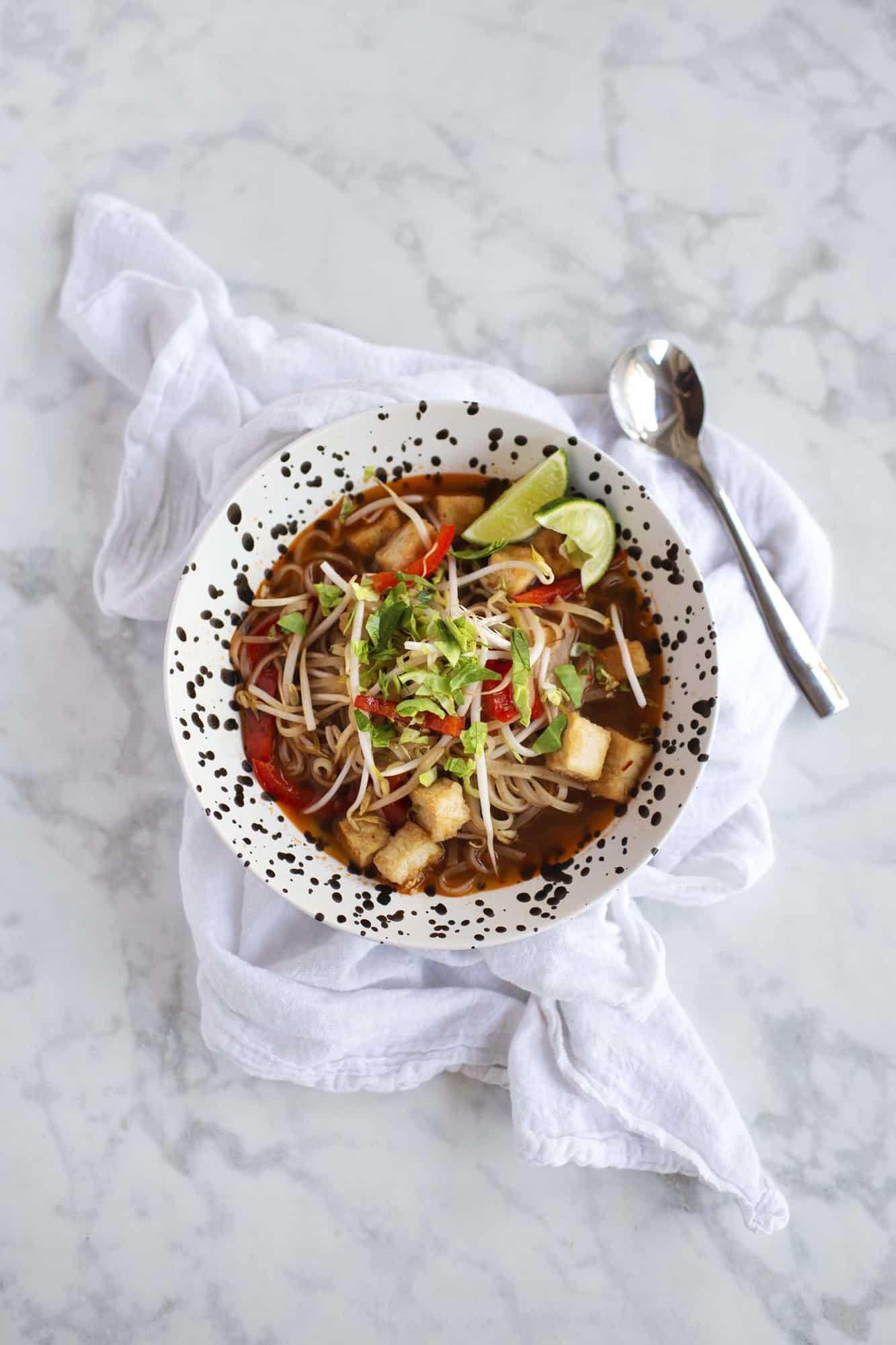 Easy Pad Thai Soup