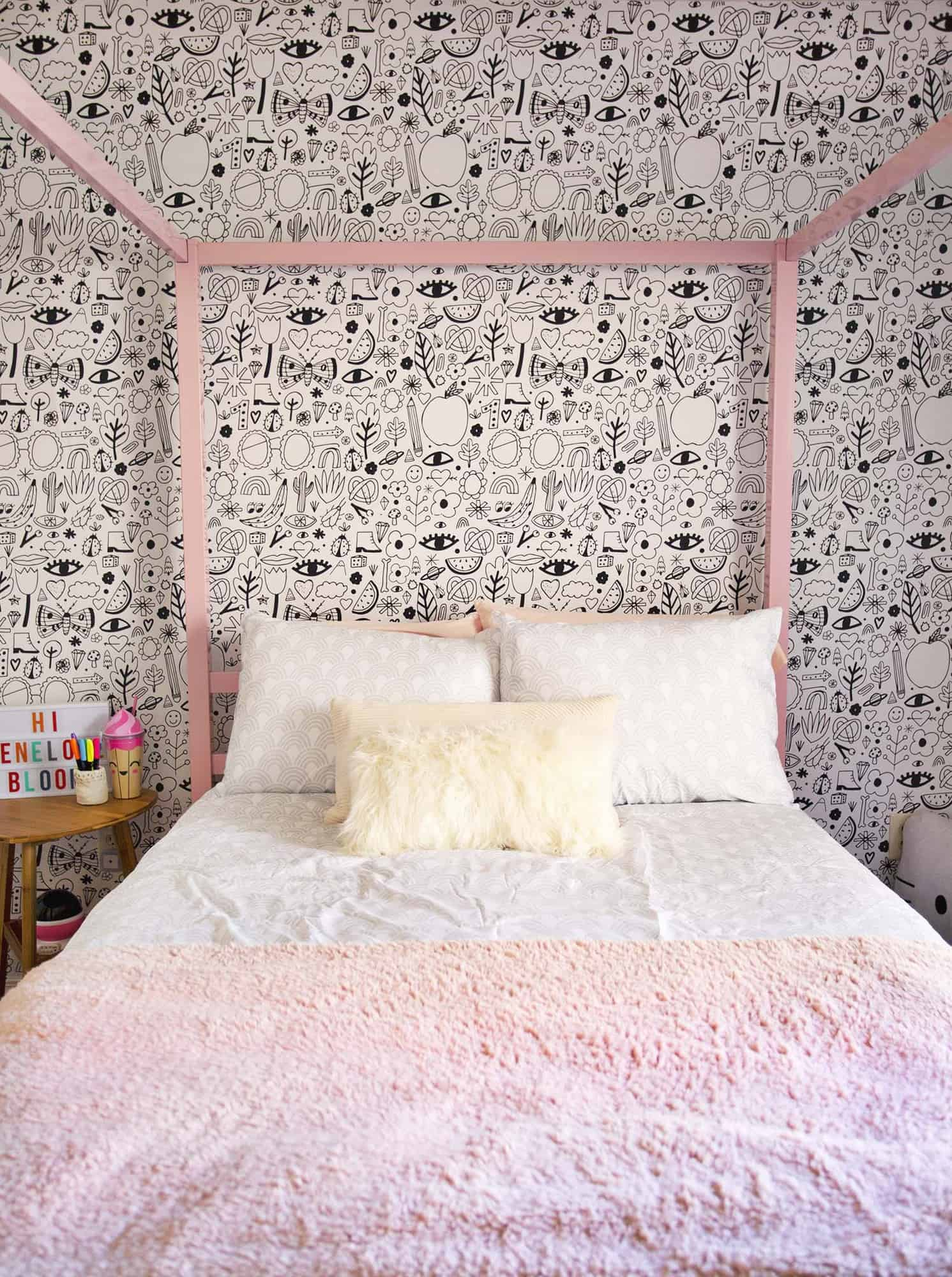 Our Niece's Bedroom Makeover