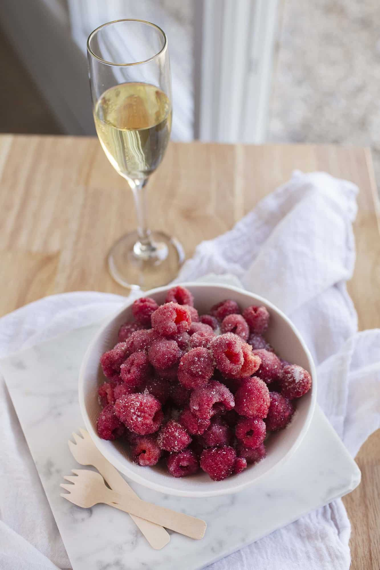 Champagne Berries
