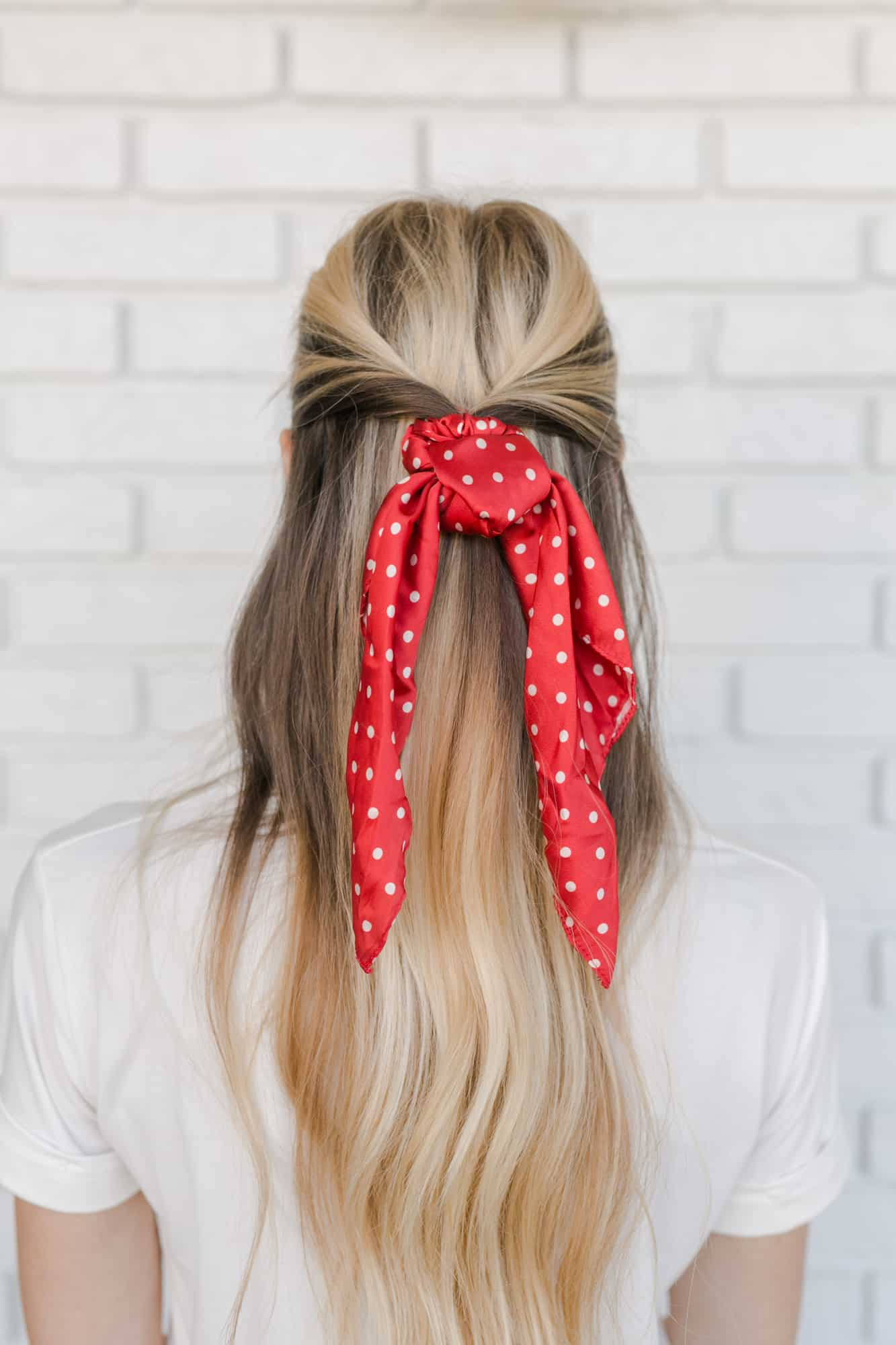 5 Ways To Wear The Scrunchie Trend A Beautiful Mess