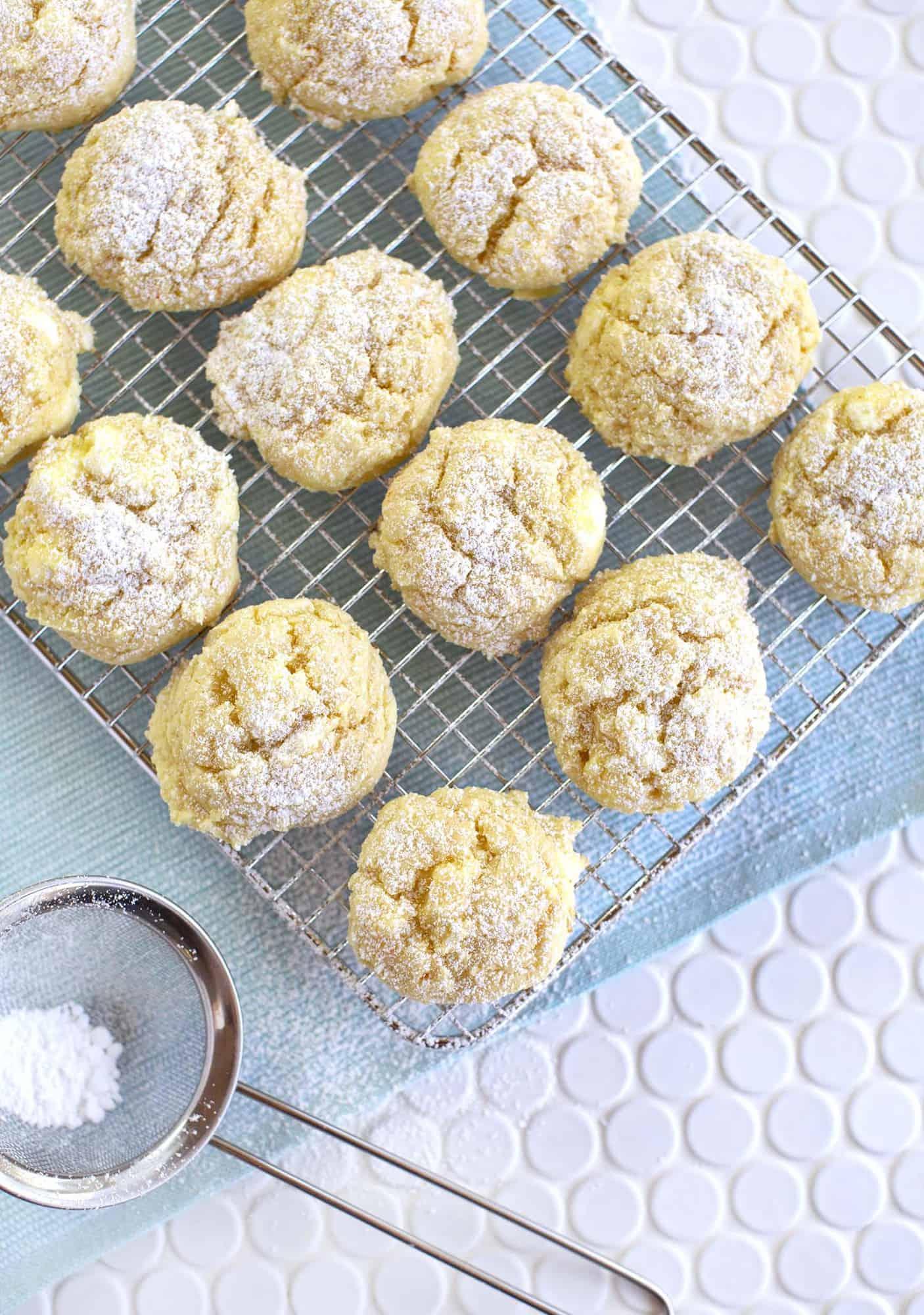 4c40afa6ee83 Easy Gooey Butter Cookies | A Beautiful Mess | Bloglovin'
